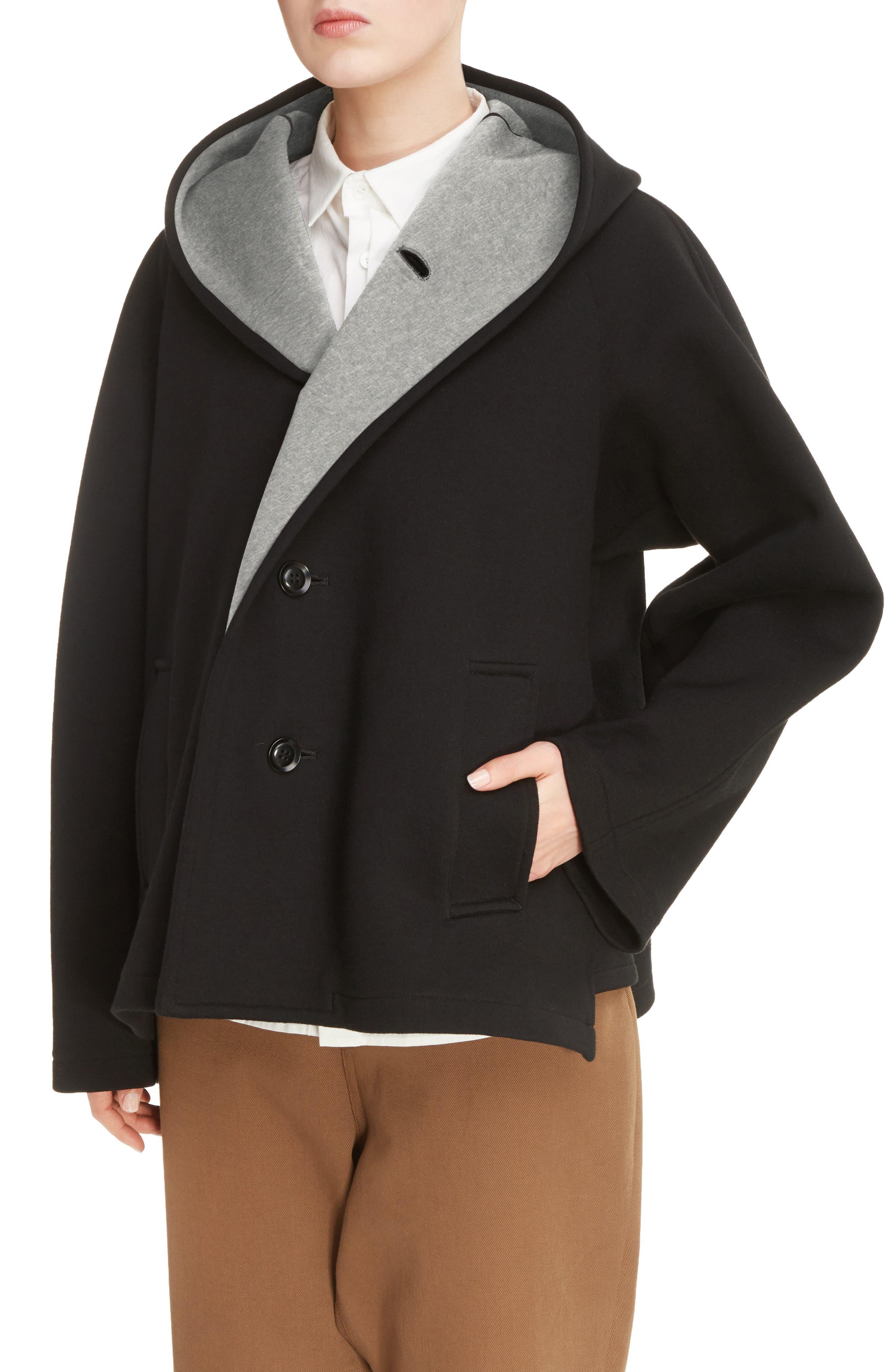 U-Hood Short Jacket,                             Alternate thumbnail 4, color,                             020