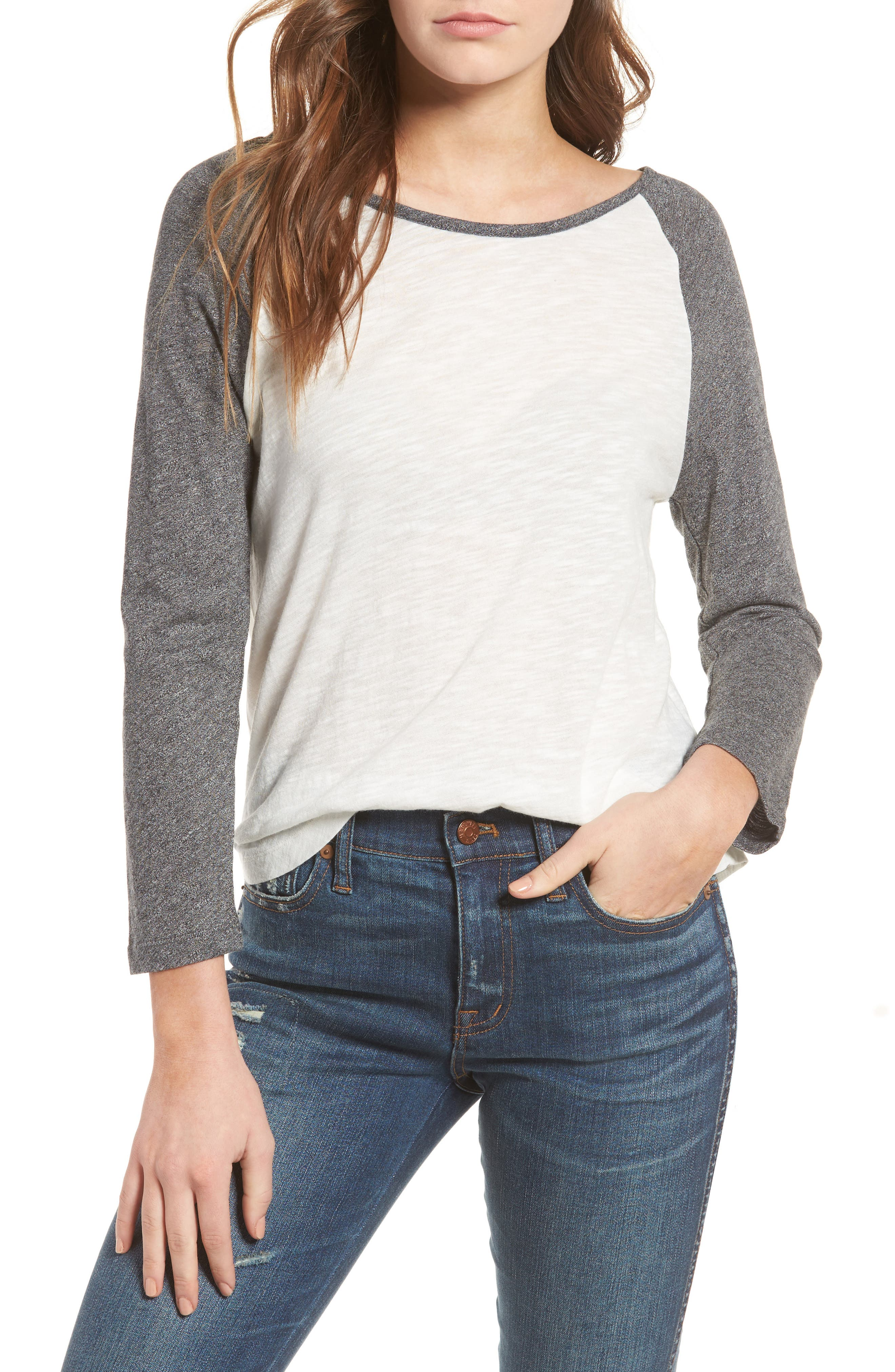 MADEWELL,                             Baseball Tee,                             Main thumbnail 1, color,                             021