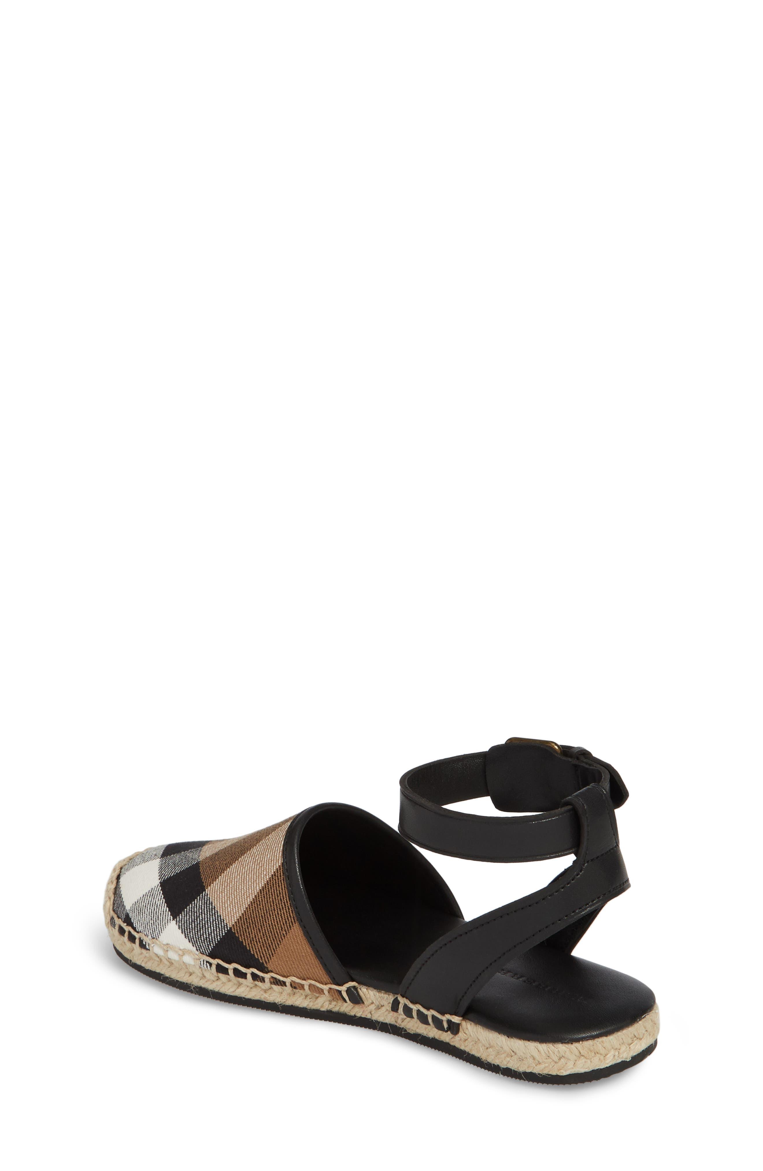 Perth Ankle Strap Sandal,                             Alternate thumbnail 2, color,                             BLACK