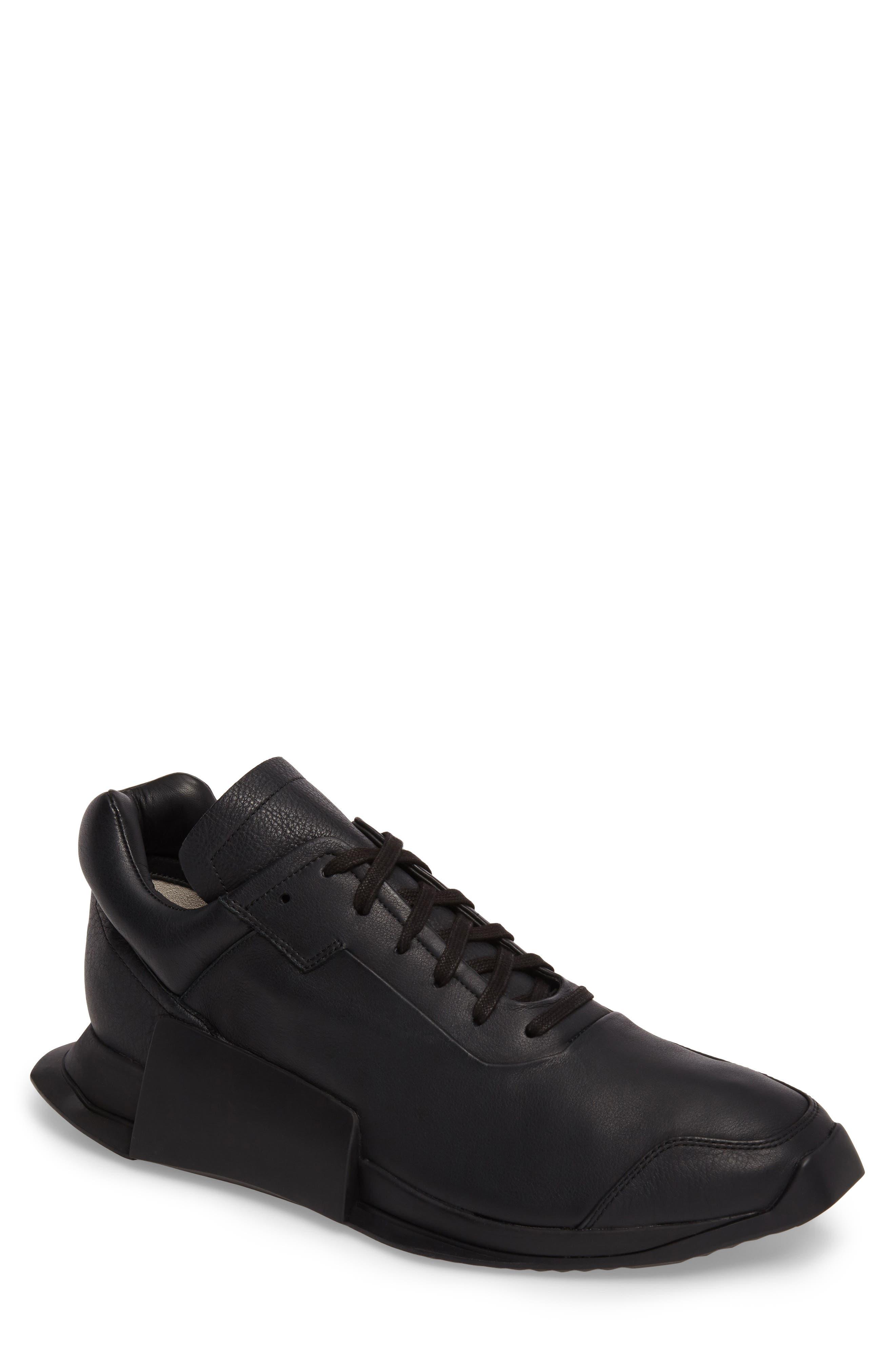 New Runner Boost Sneaker,                             Main thumbnail 1, color,                             001