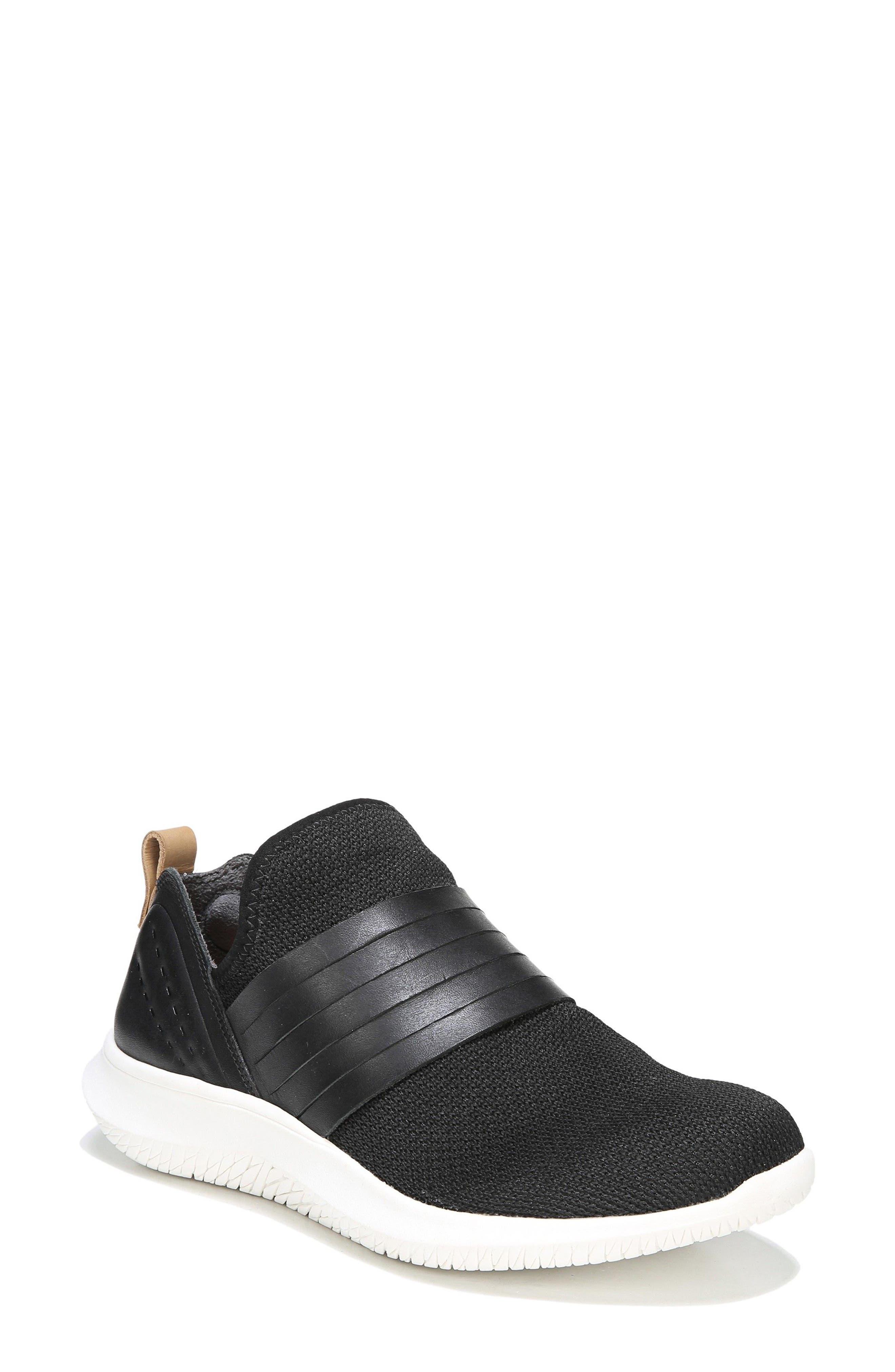 Fierceness Knit Slip-On Sneaker,                             Main thumbnail 1, color,                             001