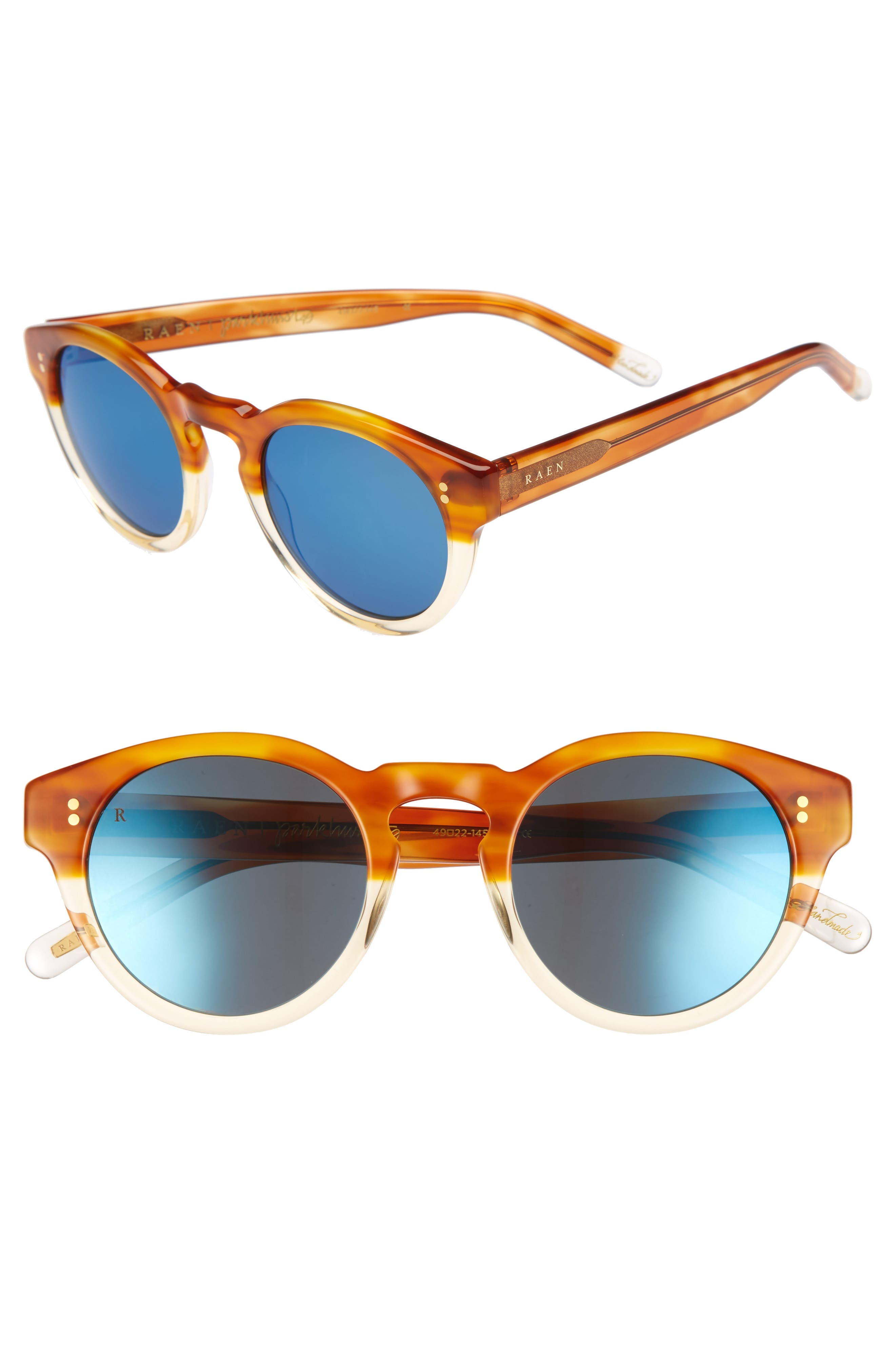 Parkhurst 49mm Sunglasses,                             Main thumbnail 1, color,                             206