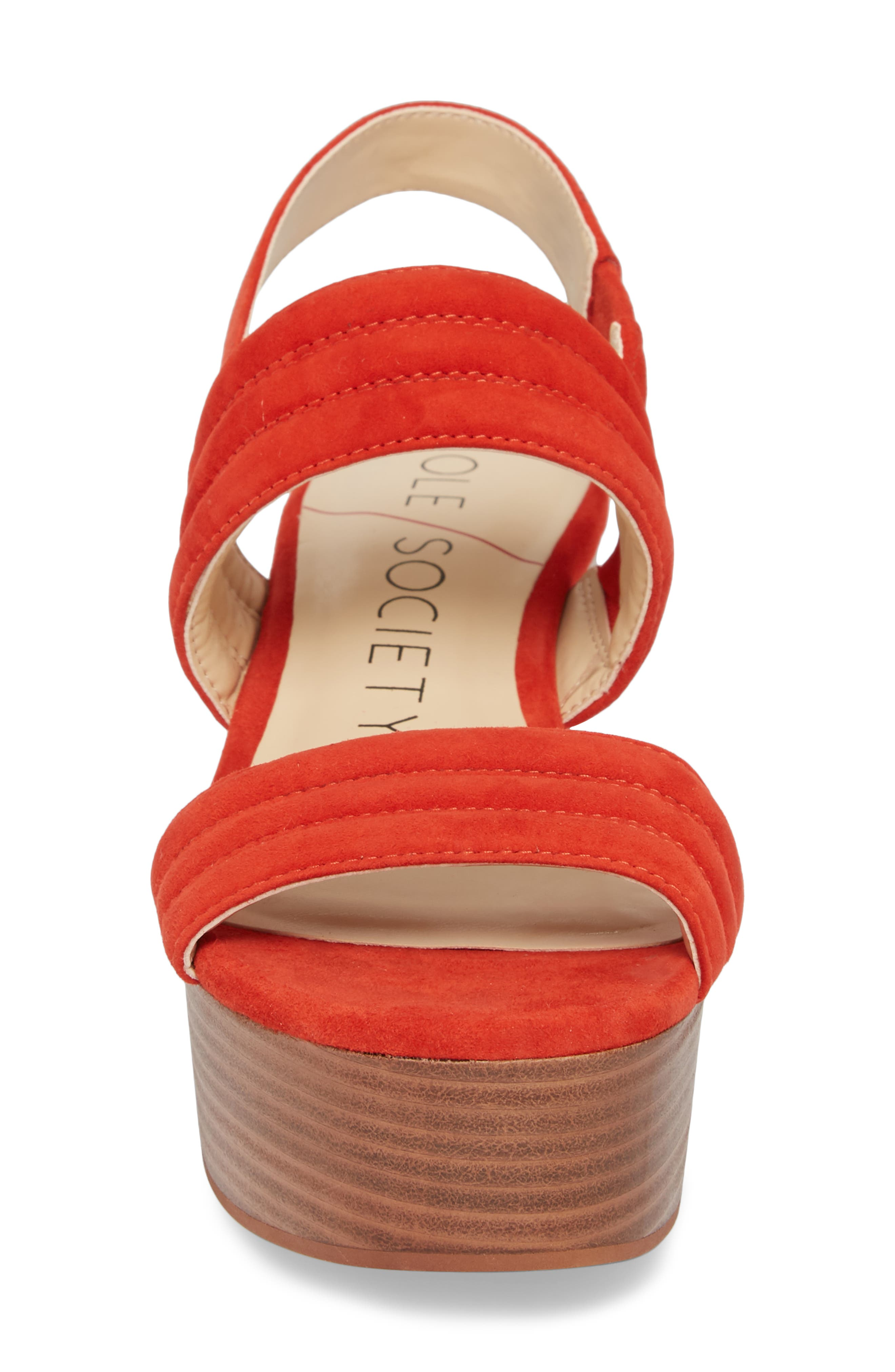 Amberly Platform Sandal,                             Alternate thumbnail 16, color,