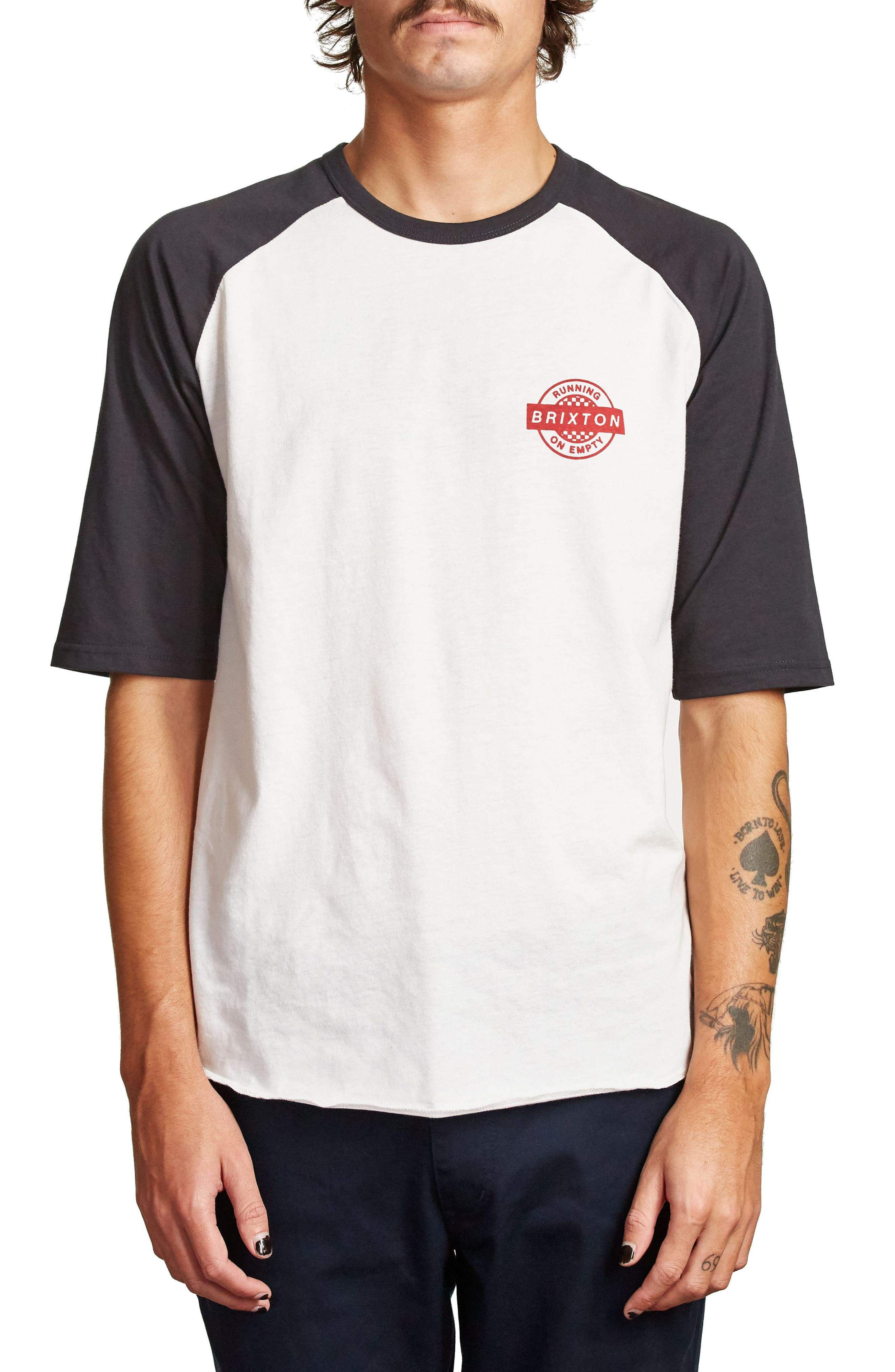 Speedway Half Sleeve T-Shirt,                         Main,                         color, 900