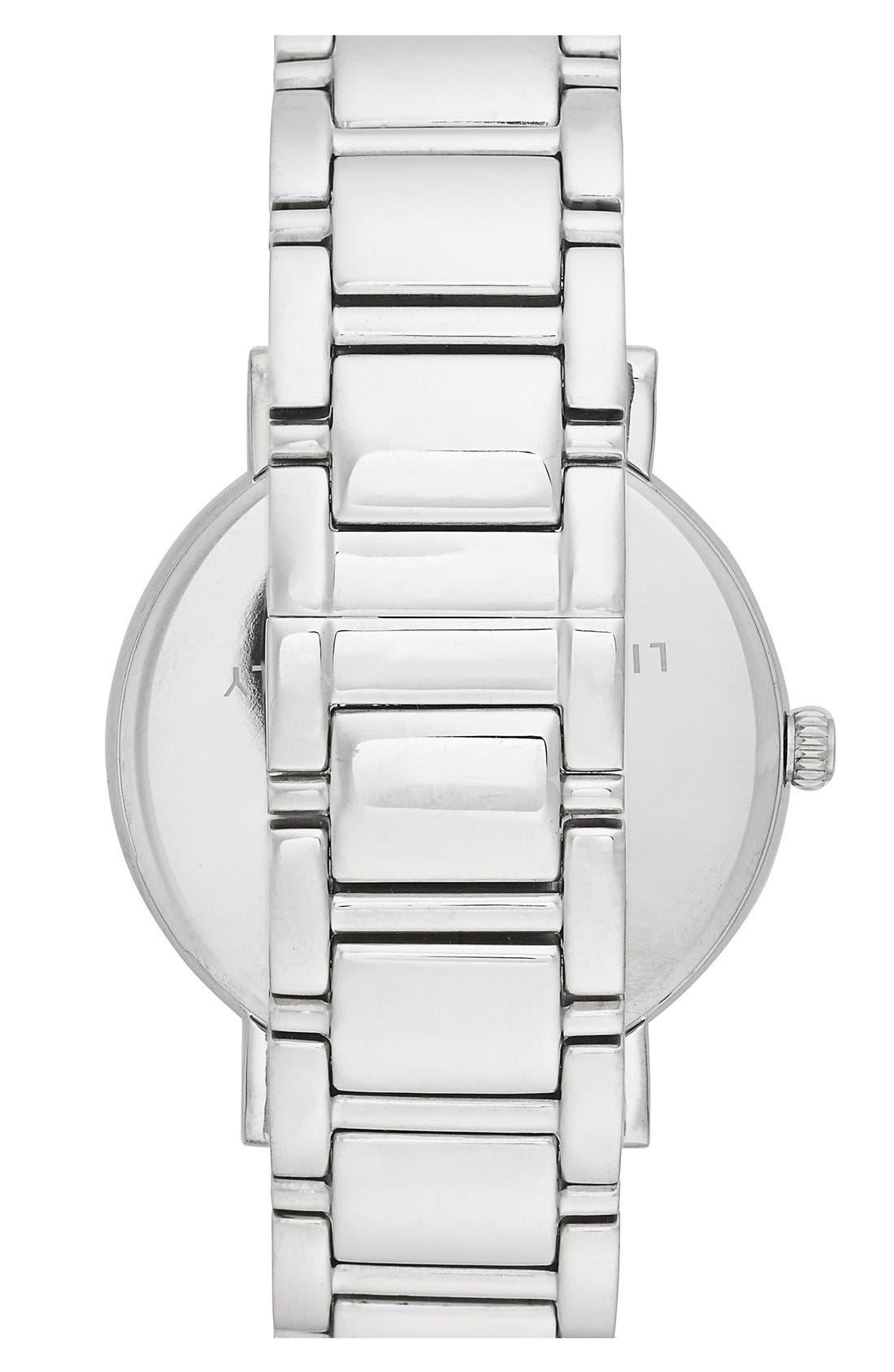 'gramercy grand' round bracelet watch, 38mm,                             Alternate thumbnail 3, color,                             040