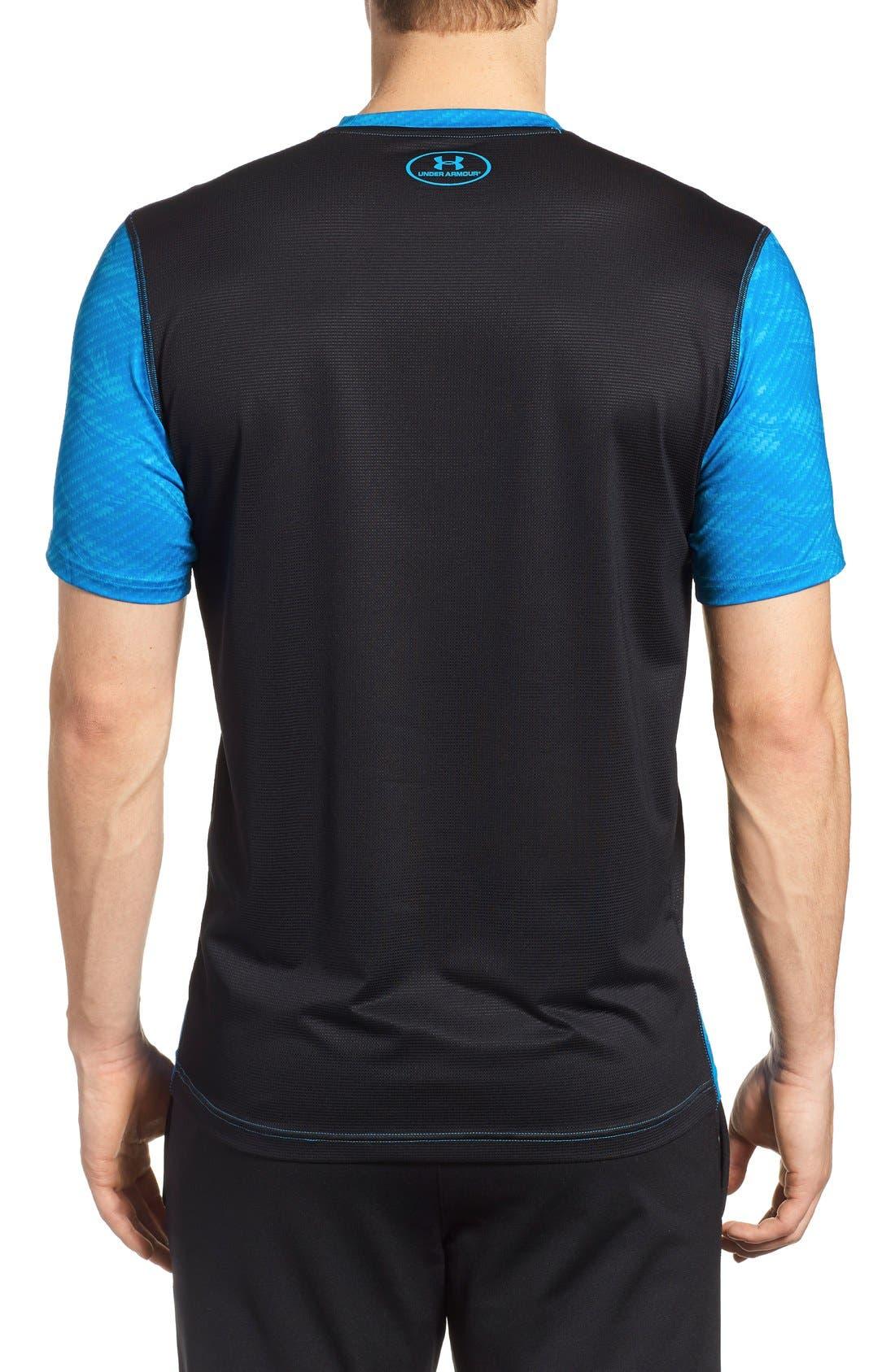 'Raid' HeatGear<sup>®</sup> Training T-Shirt,                             Alternate thumbnail 44, color,