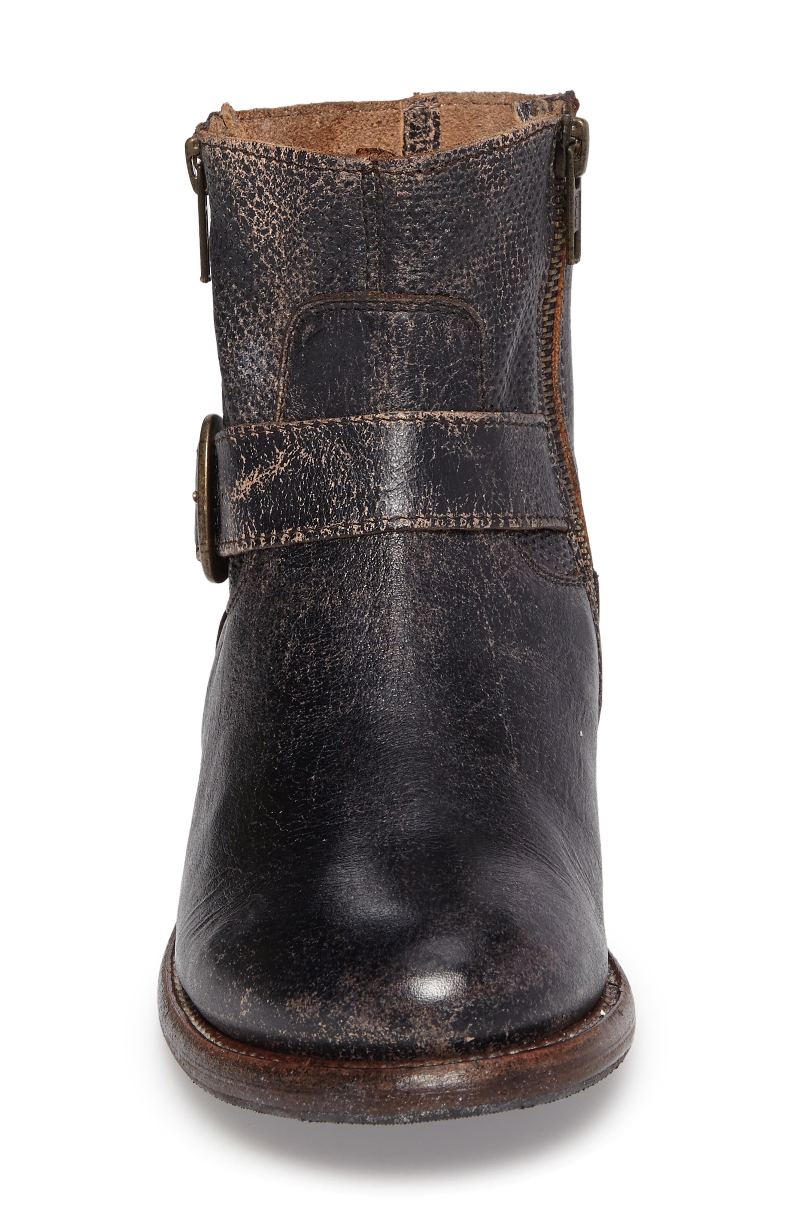 Becca Buckle Boot,                             Alternate thumbnail 4, color,                             008