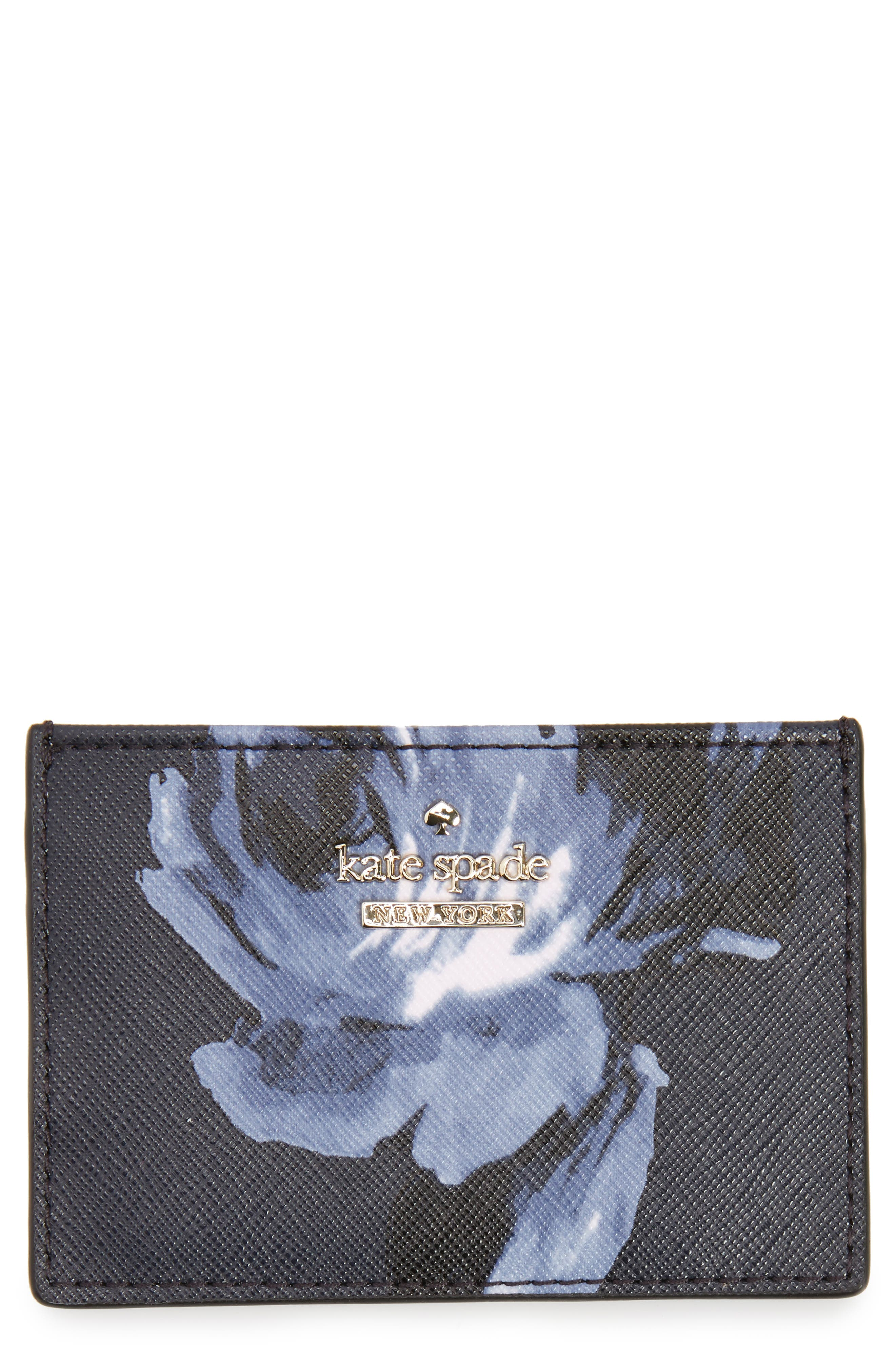 cameron street night rose card holder,                             Main thumbnail 1, color,