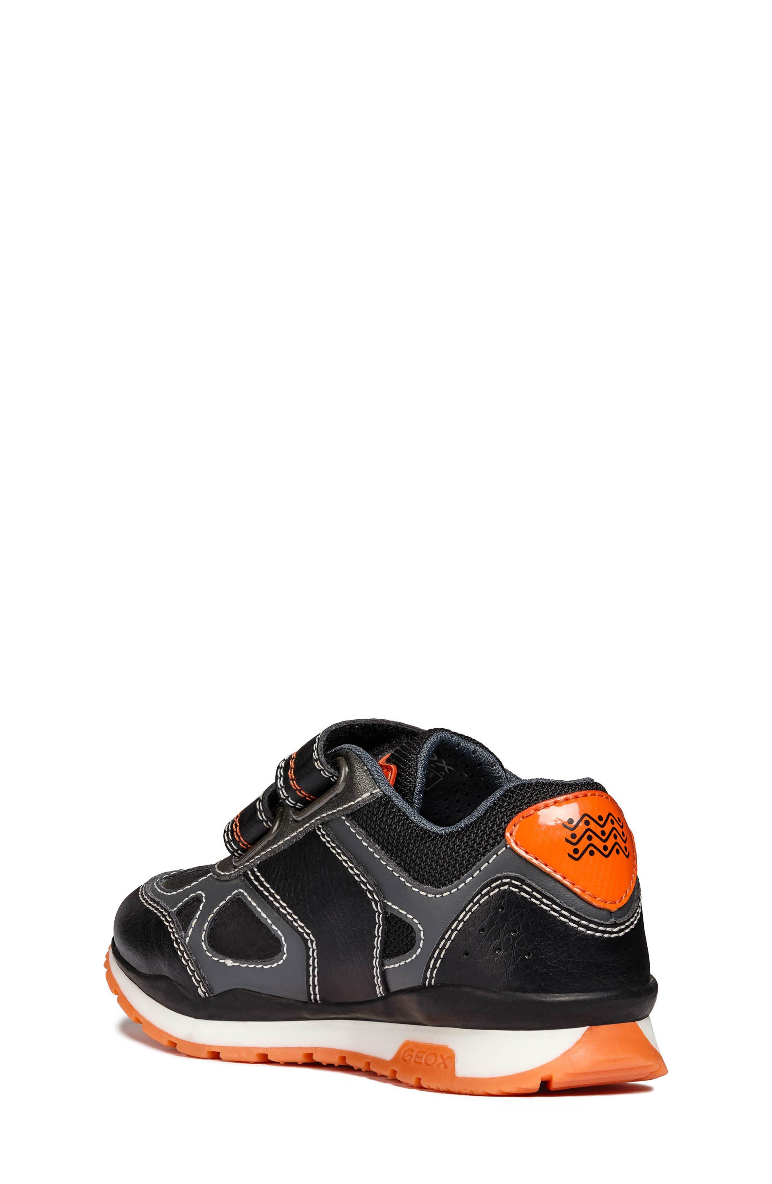Pavel Sneaker,                             Alternate thumbnail 2, color,                             DARK GREY/ORANGE