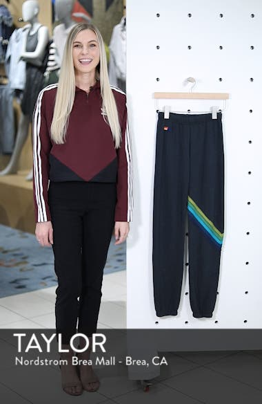Chevron Stripe Sweatpants, sales video thumbnail