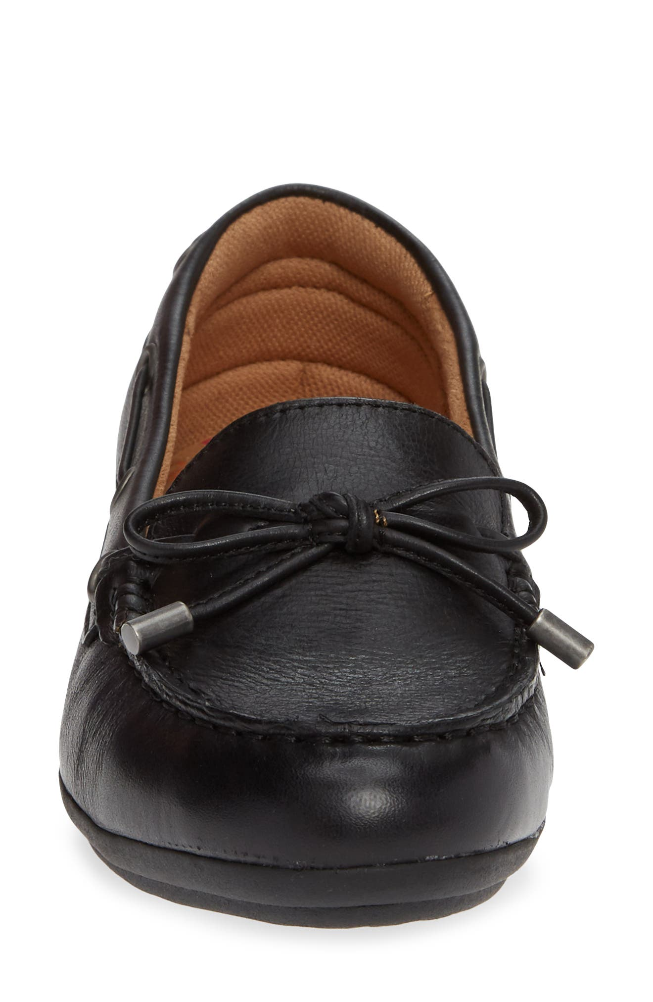 Mindy Loafer,                             Alternate thumbnail 4, color,                             BLACK