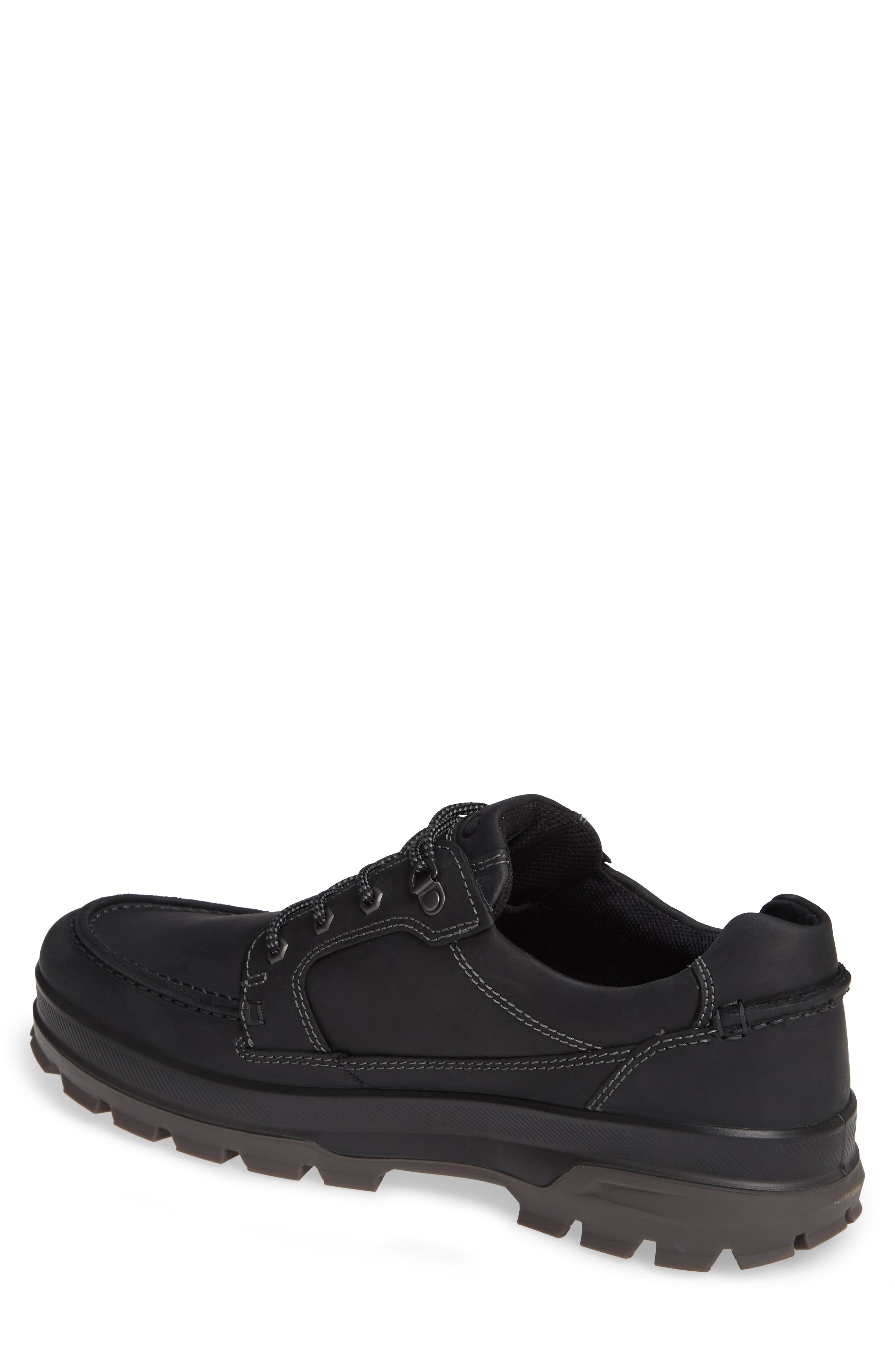 Rugged Track Low Gore-Tex<sup>®</sup> Oxford,                             Alternate thumbnail 2, color,                             BLACK LEATHER