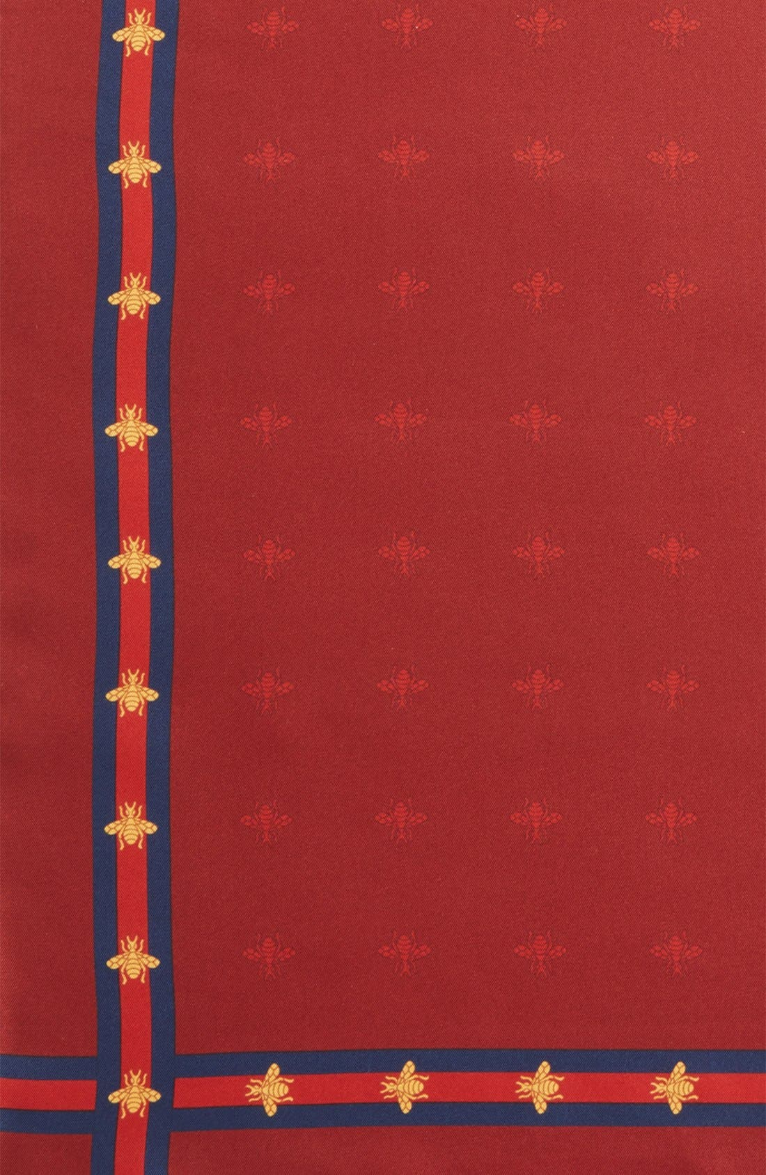 Runebis Silk Twill Pocket Square,                             Alternate thumbnail 24, color,