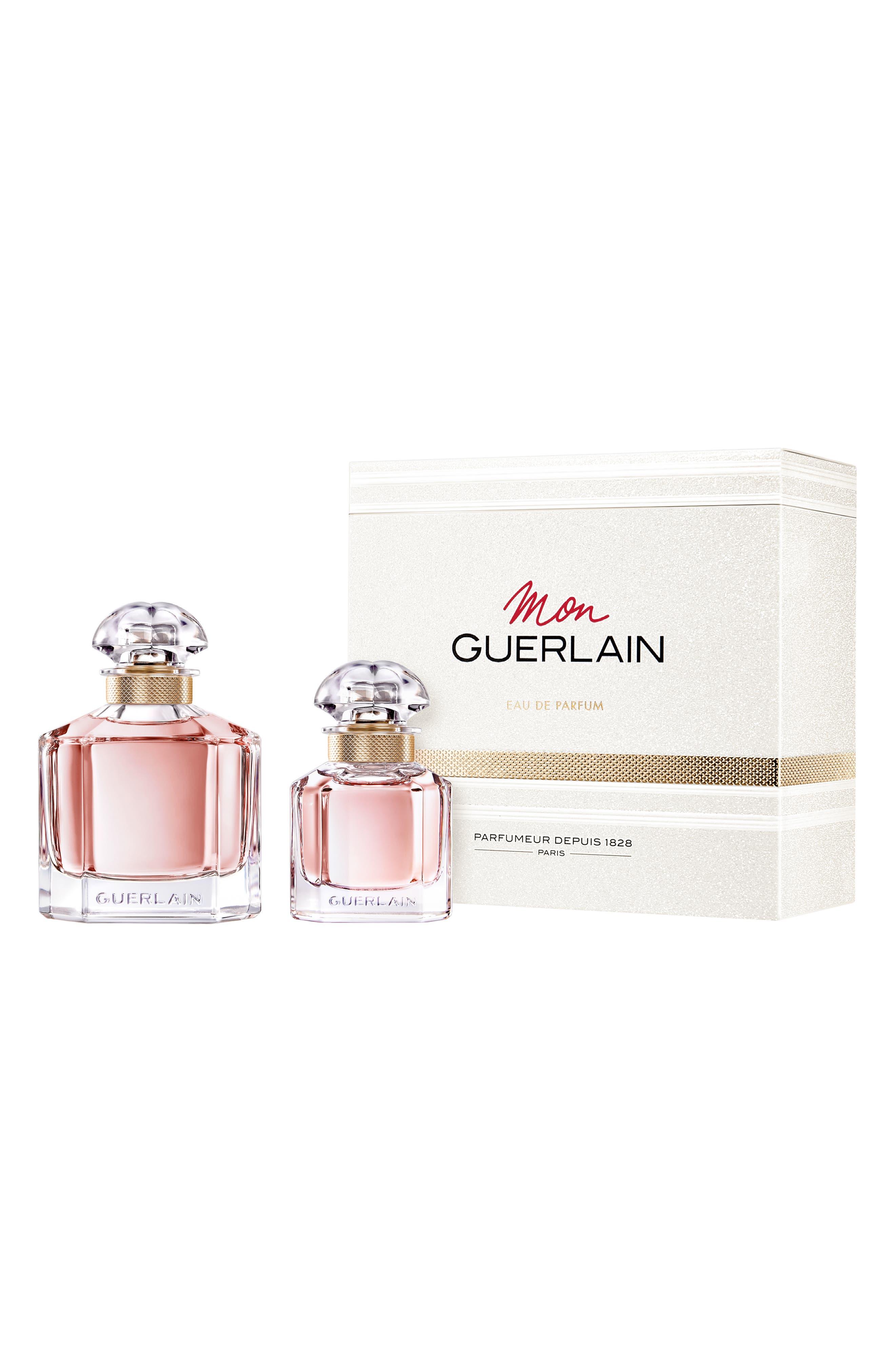 Mon Guerlain Eau de Parfum Set,                             Main thumbnail 1, color,                             000