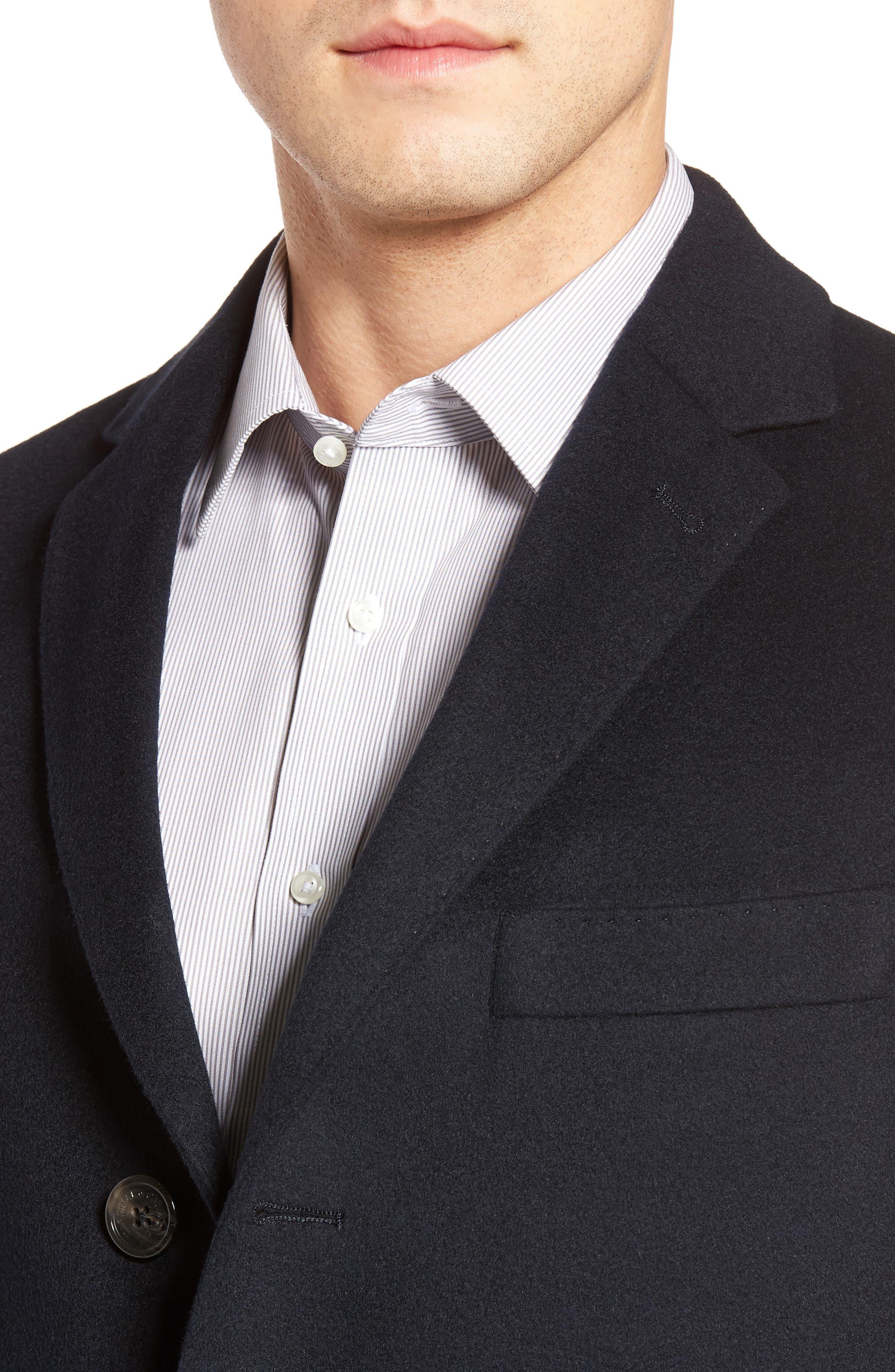 St. Paul Wool & Cashmere Topcoat,                             Alternate thumbnail 4, color,                             410