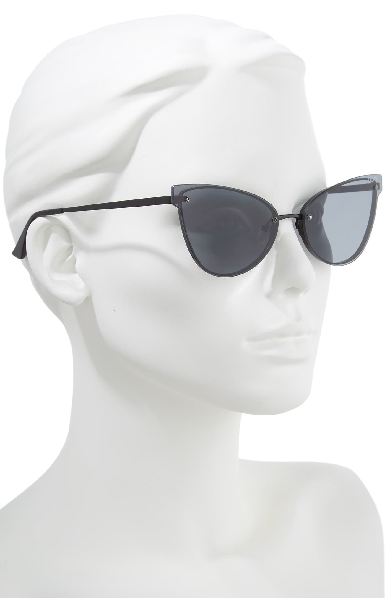 Lady Luck 60mm Cat Eye Sunglasses,                             Alternate thumbnail 2, color,                             001