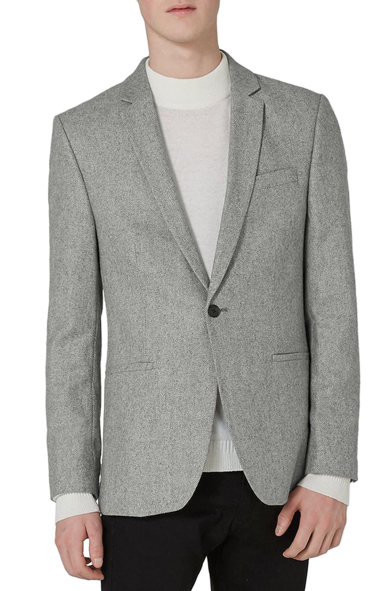 Slim Fit Smart Blazer,                         Main,                         color, 020
