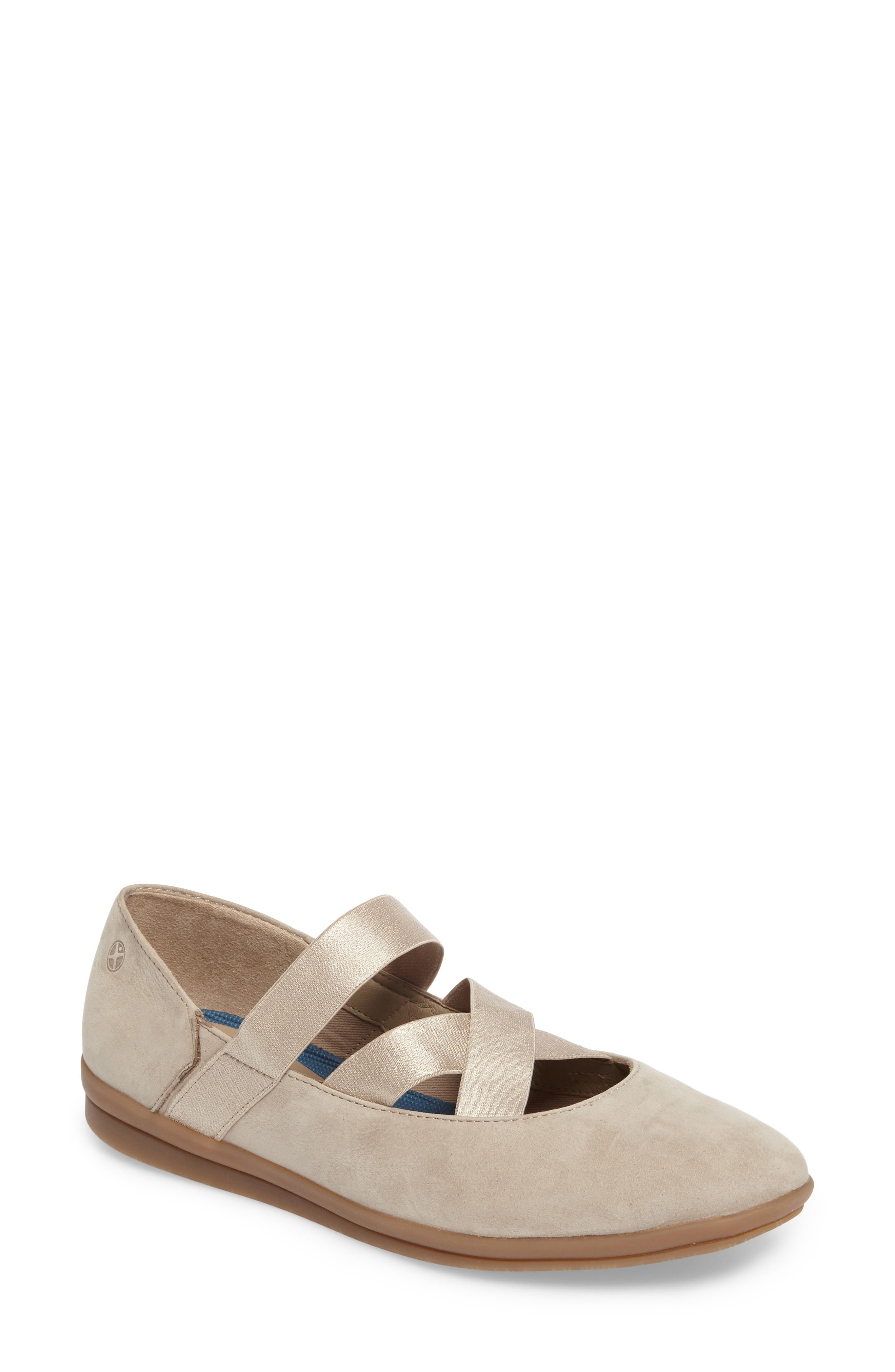 Meree Madrine Cross Strap Flat,                             Main thumbnail 5, color,
