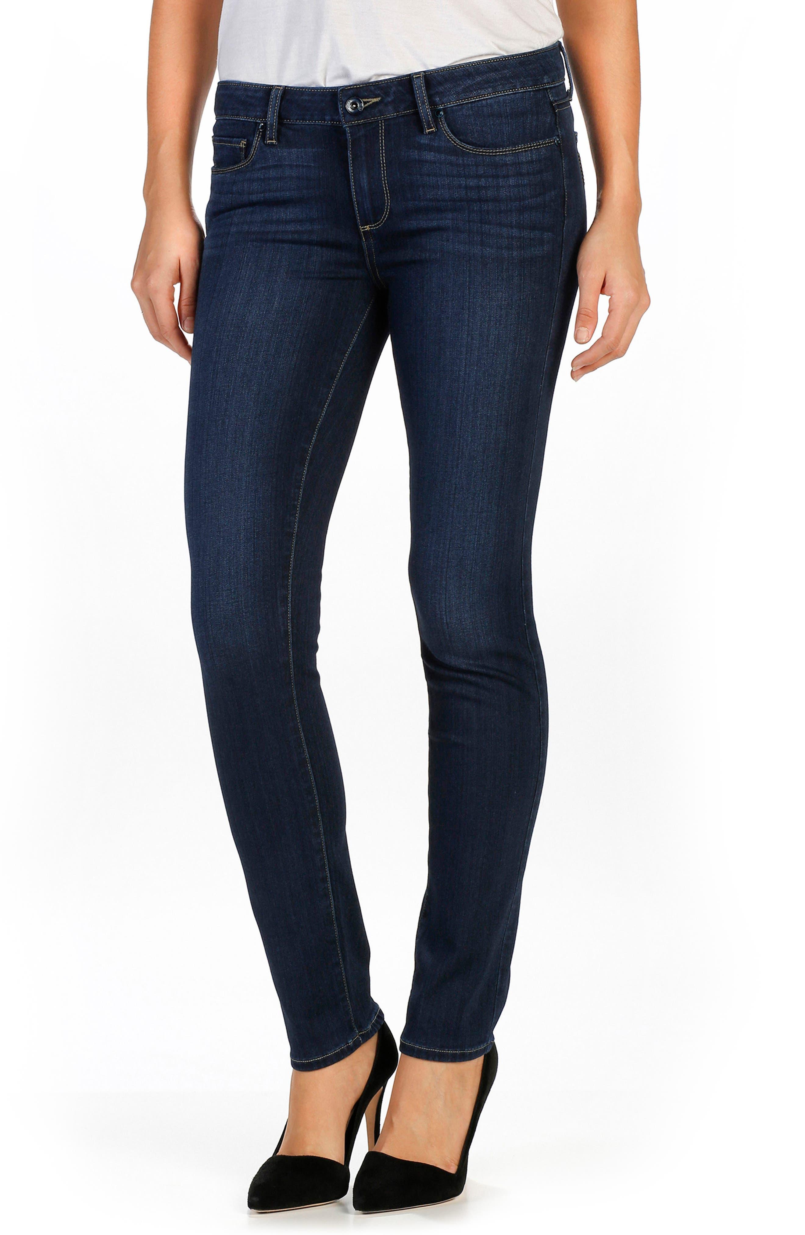 Transcend Skyline Skinny Jeans, Main, color, 400