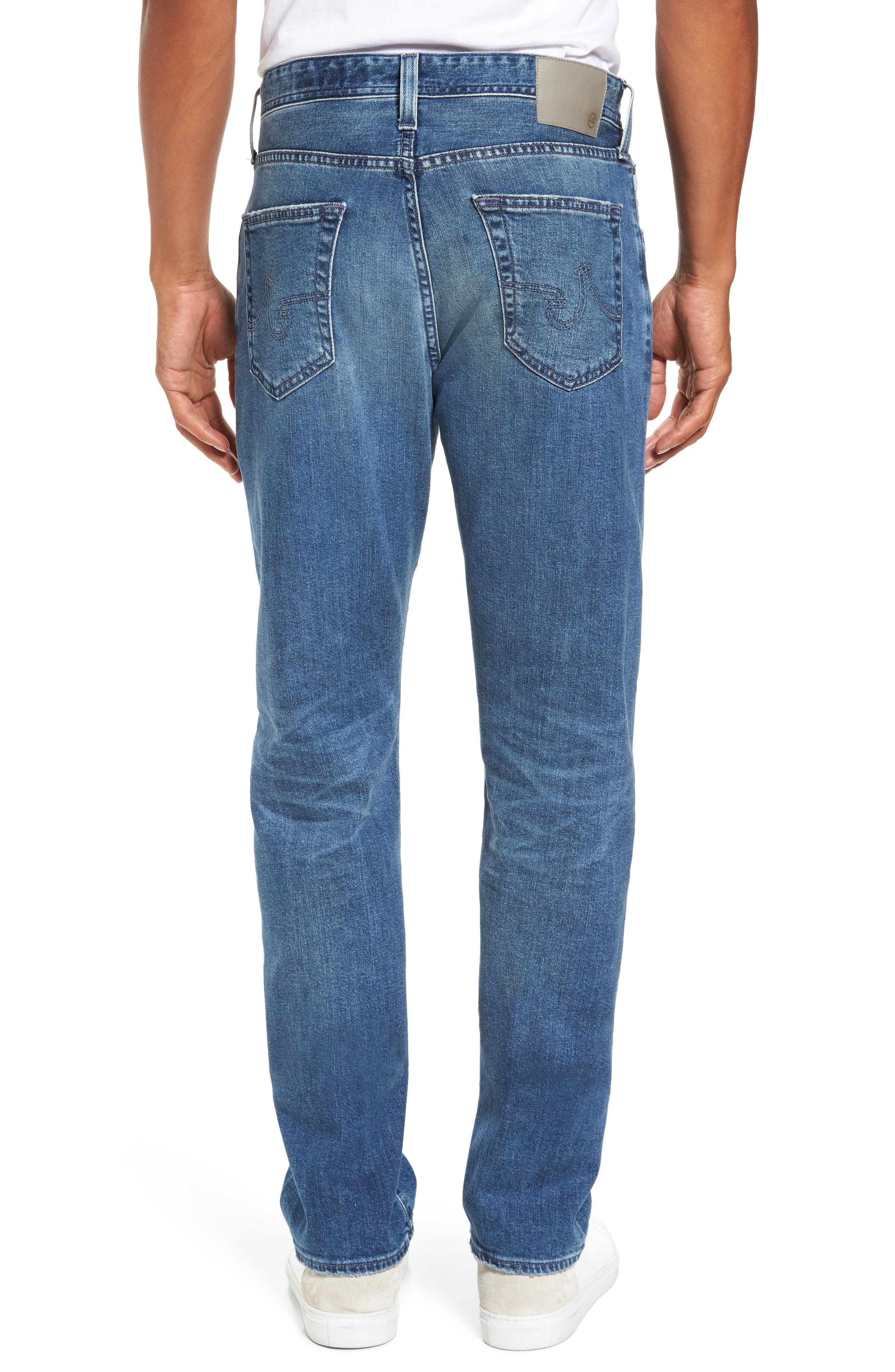 Ives Straight Fit Jeans,                             Alternate thumbnail 2, color,                             468