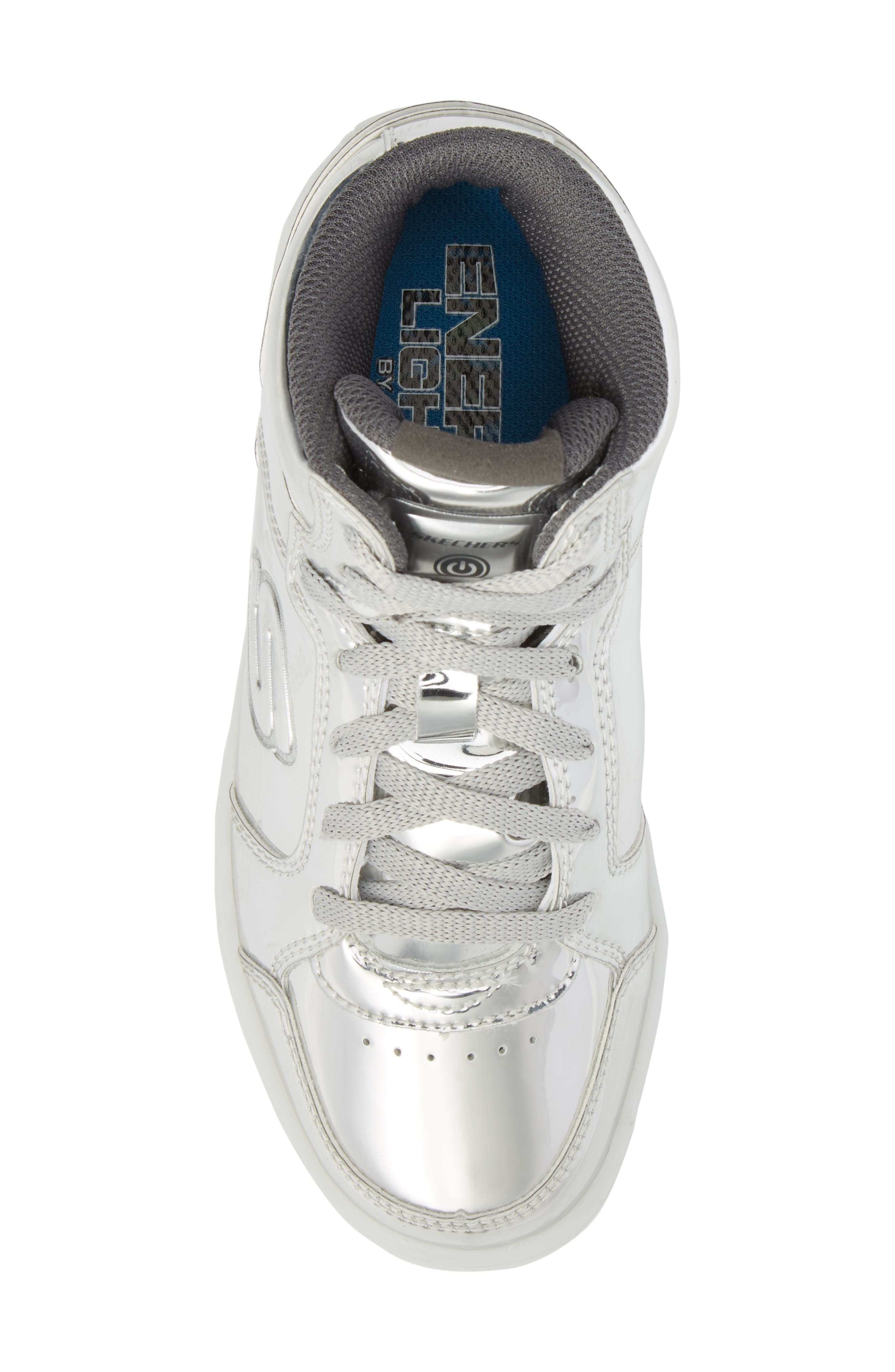 Energy Lights Metallic High Top Sneaker,                             Alternate thumbnail 15, color,