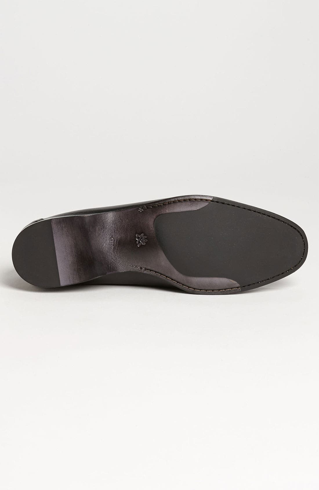 'Costanzo' Loafer,                             Alternate thumbnail 4, color,                             001