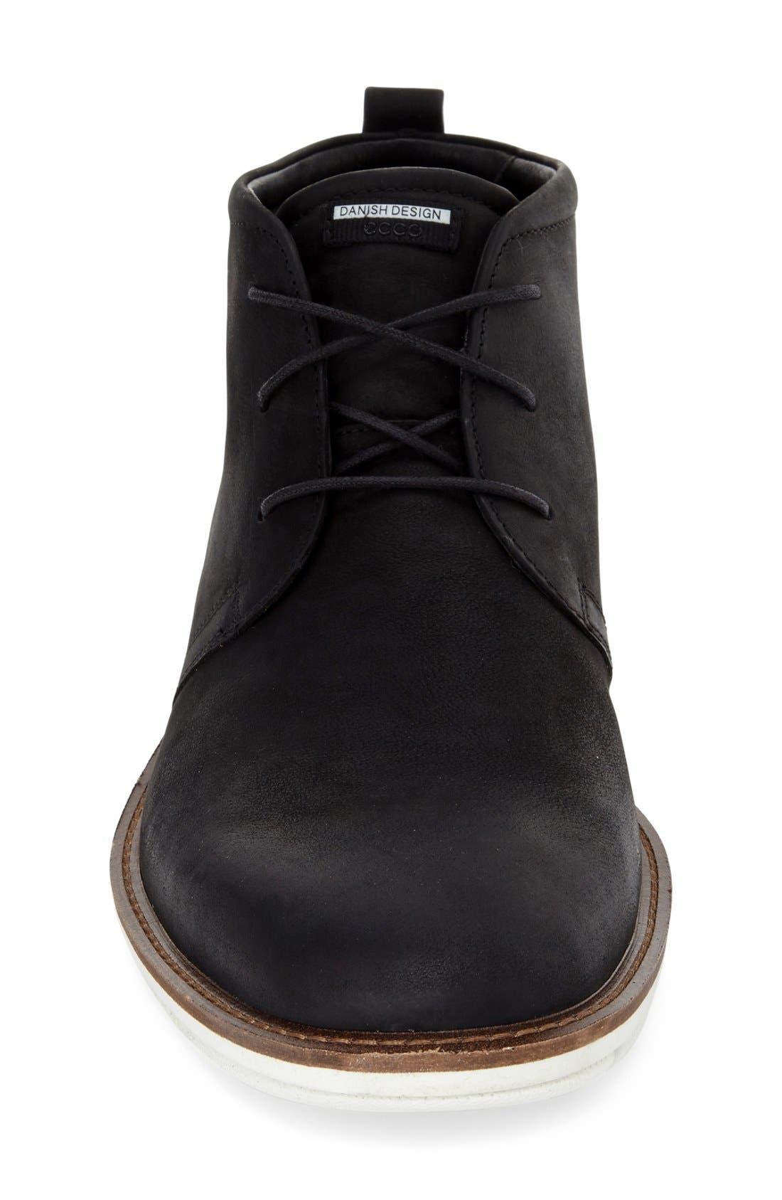 'Jeremy Hybrid' Plain Toe Boot,                             Alternate thumbnail 5, color,