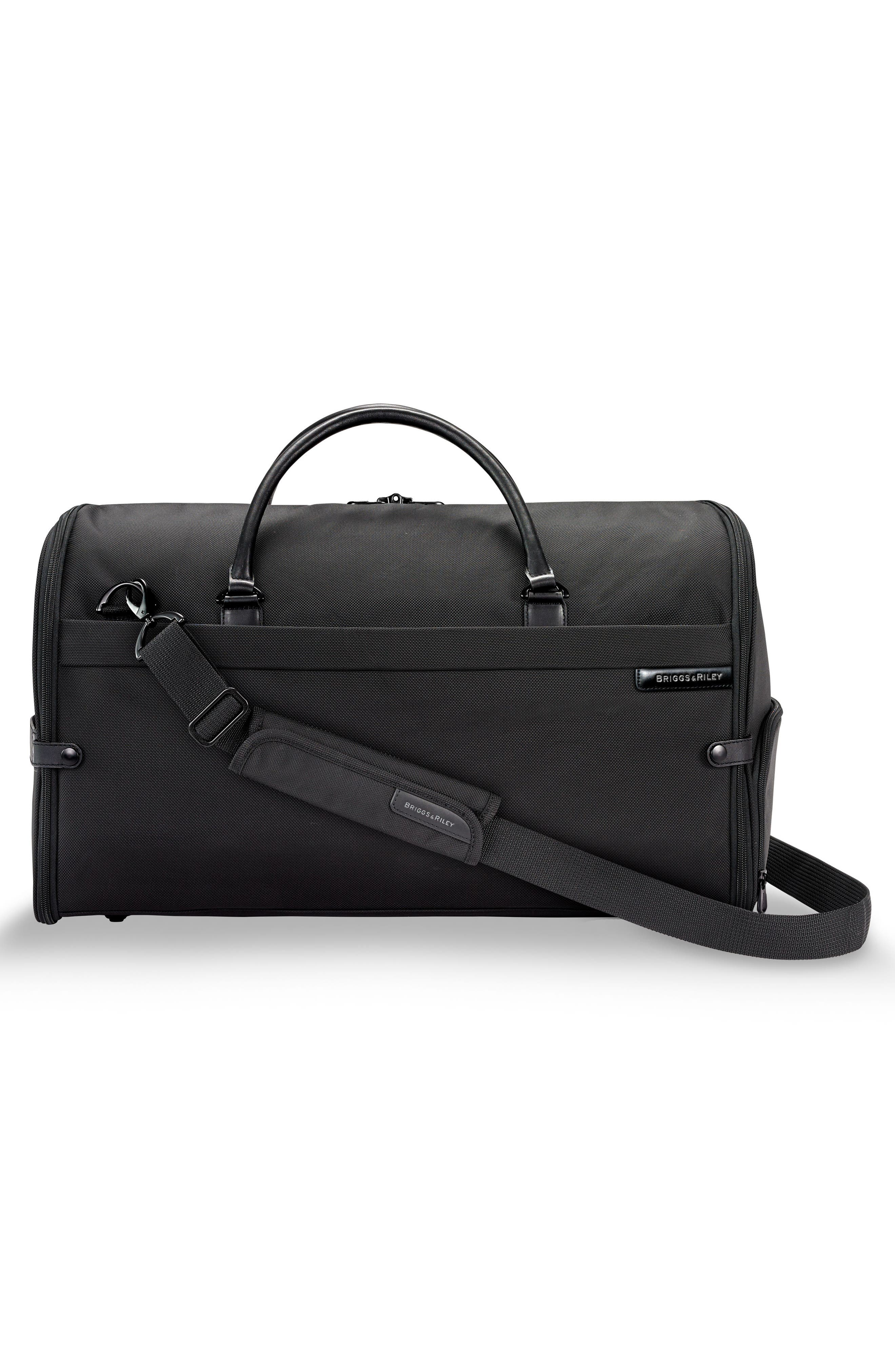 BRIGGS & RILEY,                             Baseline Suiter Duffel Bag,                             Alternate thumbnail 3, color,                             BLACK