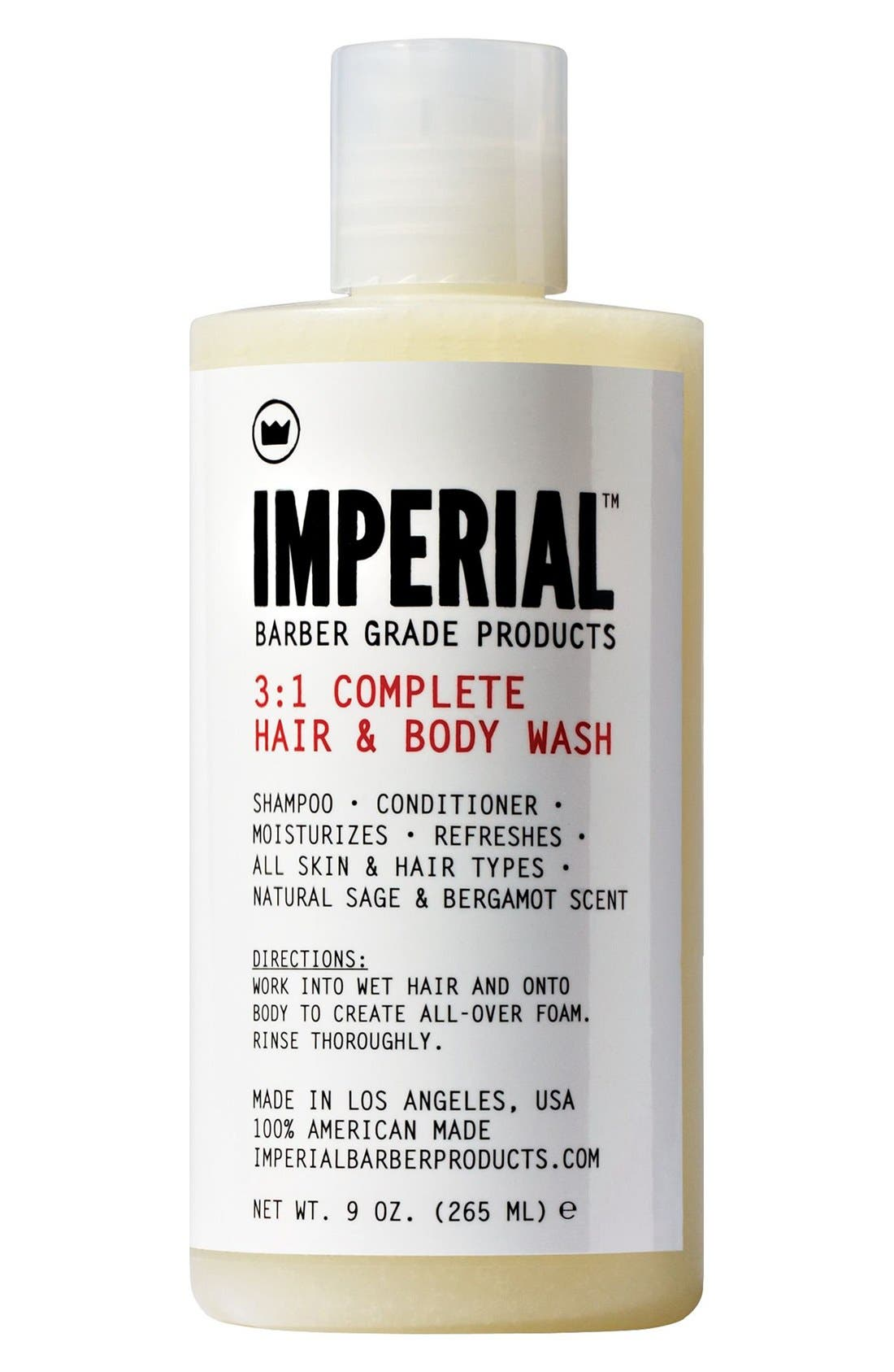 '3-to-1 Complete' Shampoo, Conditioner & Body Wash,                         Main,                         color, 000