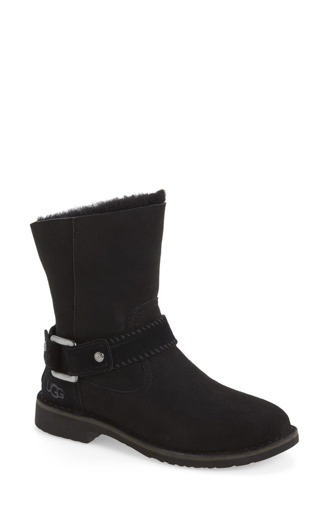 Cedric Water Resistant Boot,                             Main thumbnail 1, color,                             001