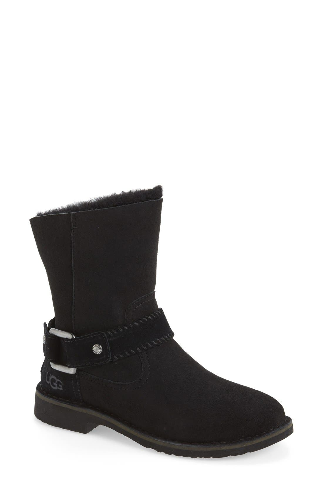 Cedric Water Resistant Boot, Main, color, 001