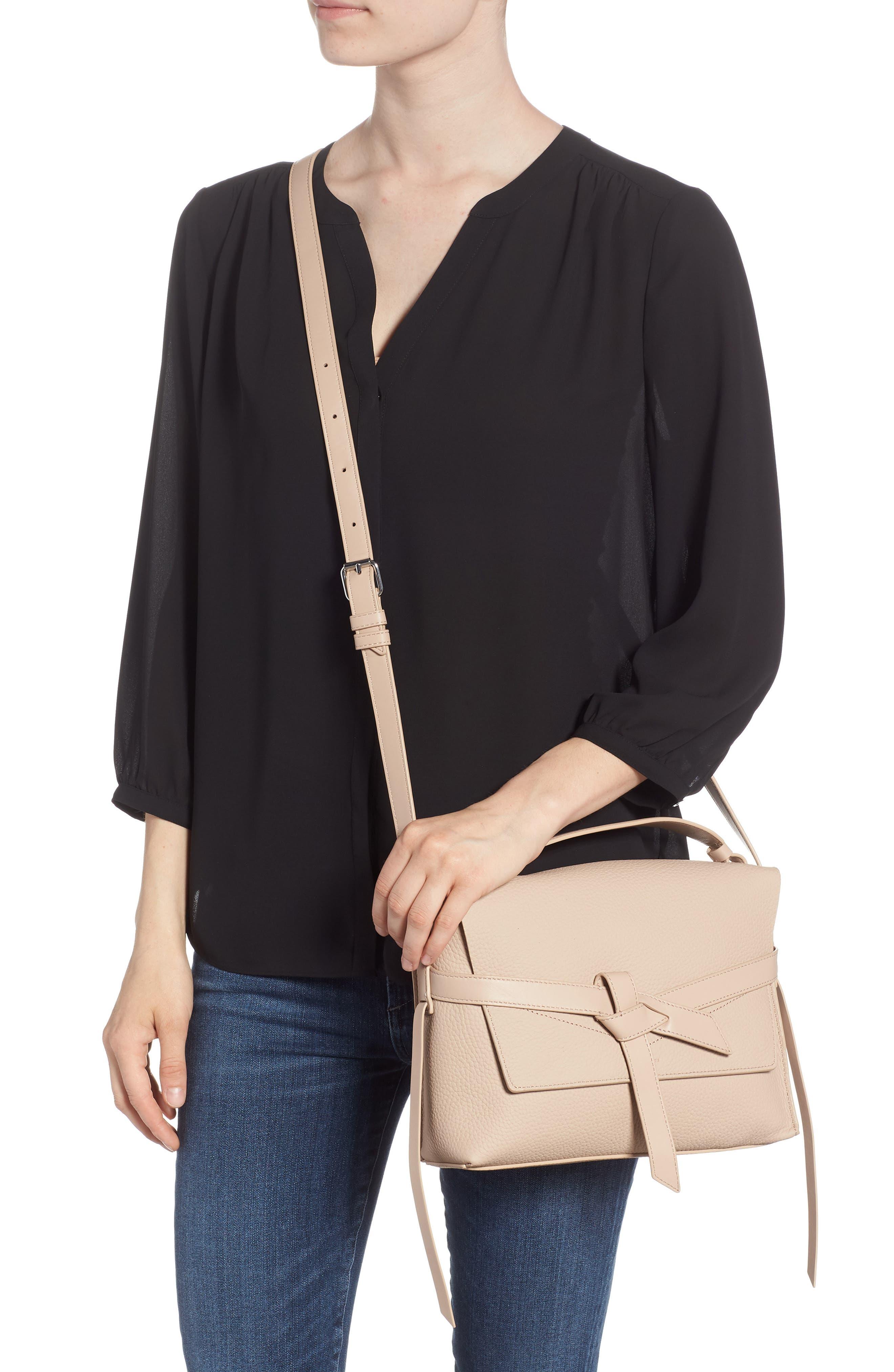 Cami Leather Shoulder Bag,                             Alternate thumbnail 2, color,                             NATURAL