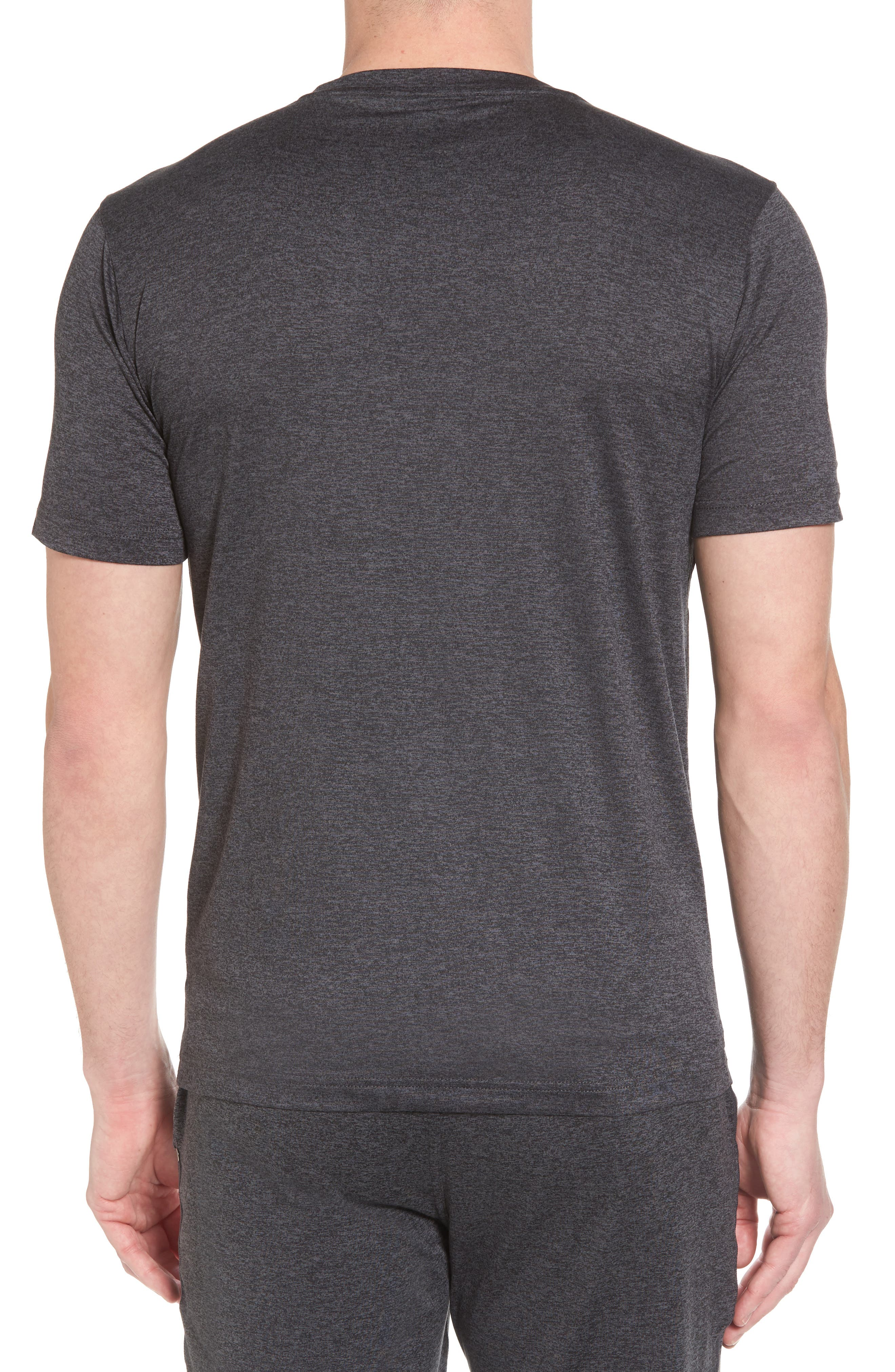 Strato Slim Fit Crewneck T-Shirt,                             Alternate thumbnail 2, color,                             HEATHER CHARCOAL