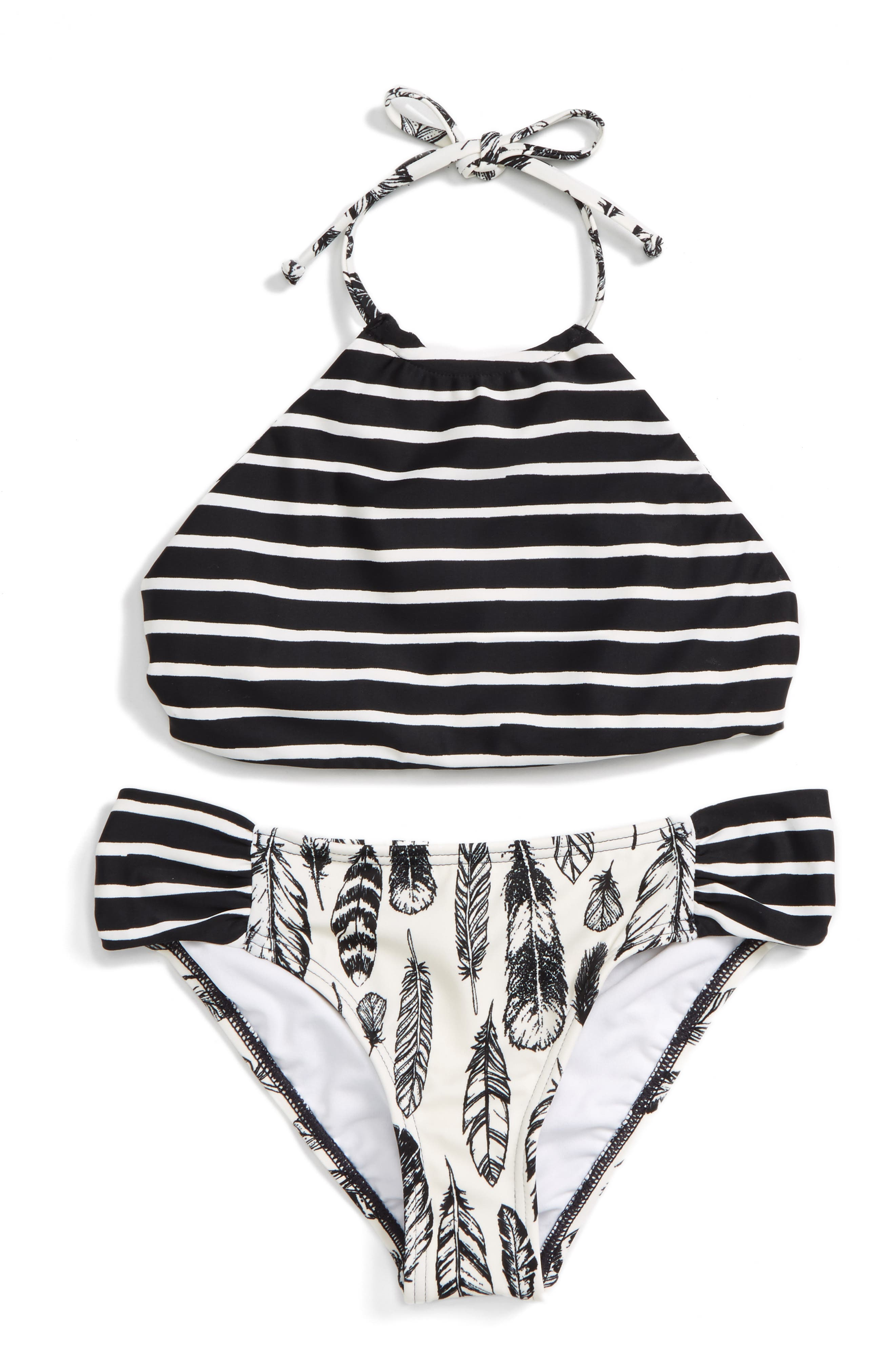 Fly Away Two-Piece Reversible Swimsuit,                         Main,                         color, 160