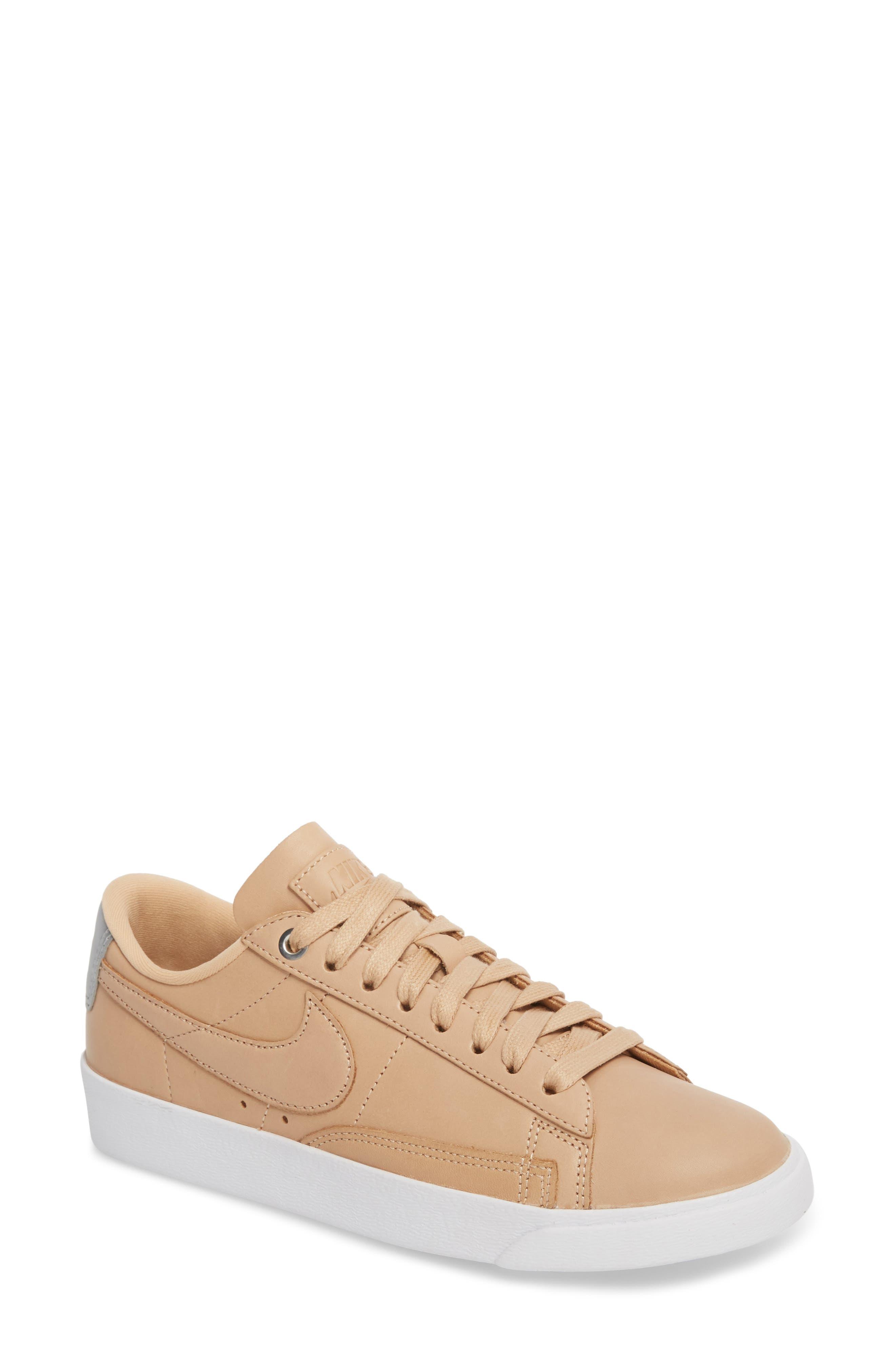 Blazer Low Top Sneaker SE,                             Main thumbnail 1, color,                             BIO BEIGE/ BIO BEIGE