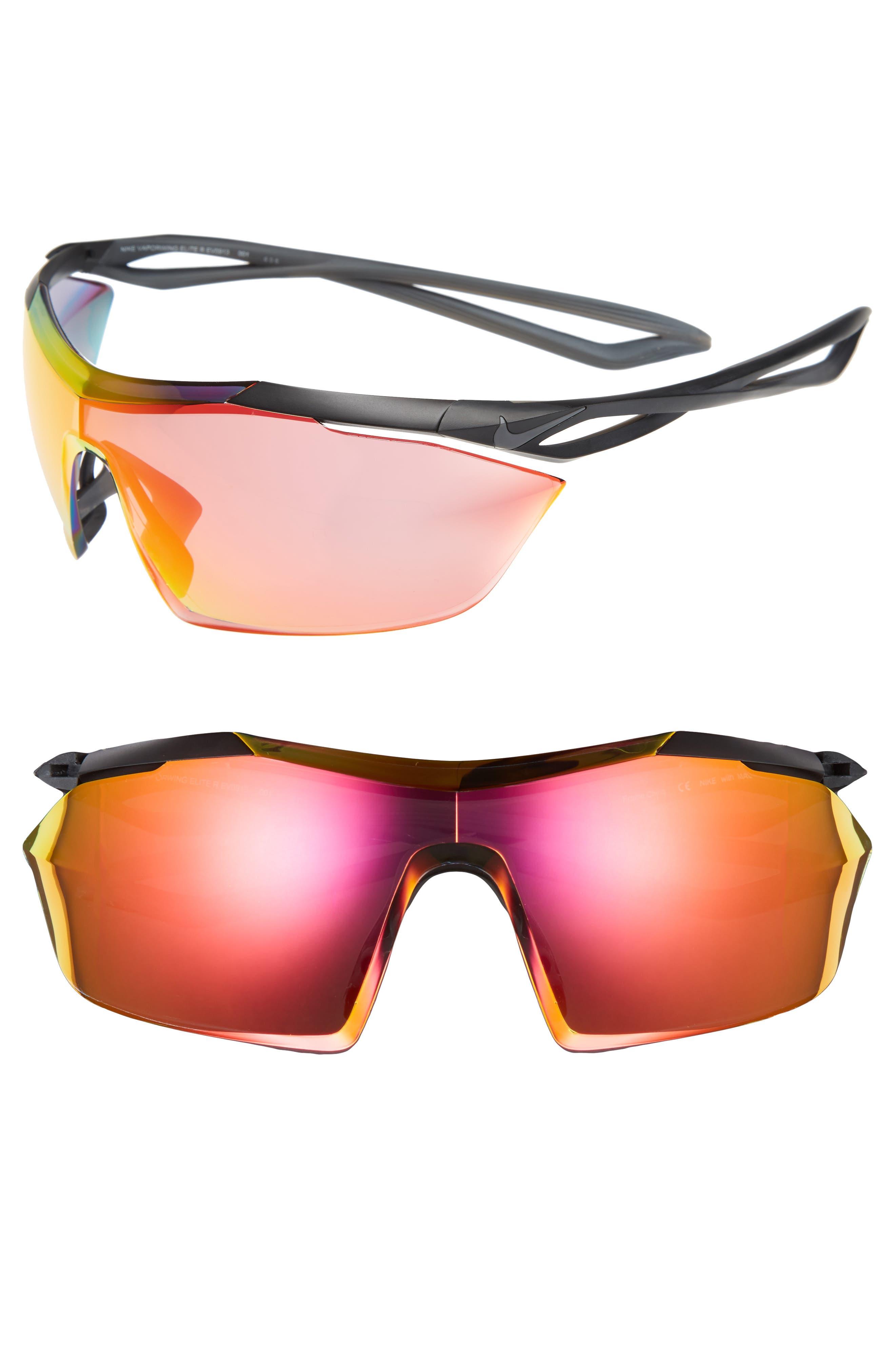 Vaporwing Elite 90mm Running Sunglasses,                         Main,                         color, 001