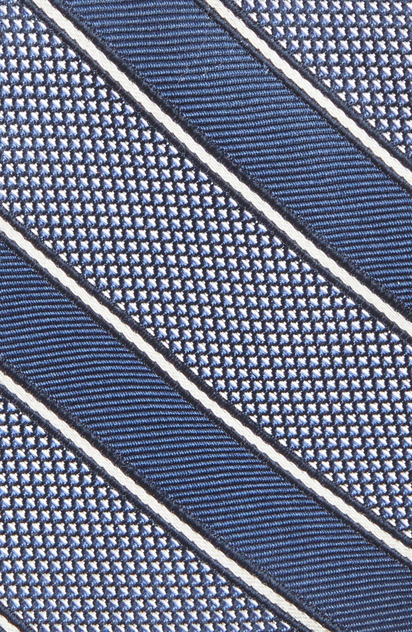 Copio Stripe Silk Tie,                             Alternate thumbnail 3, color,