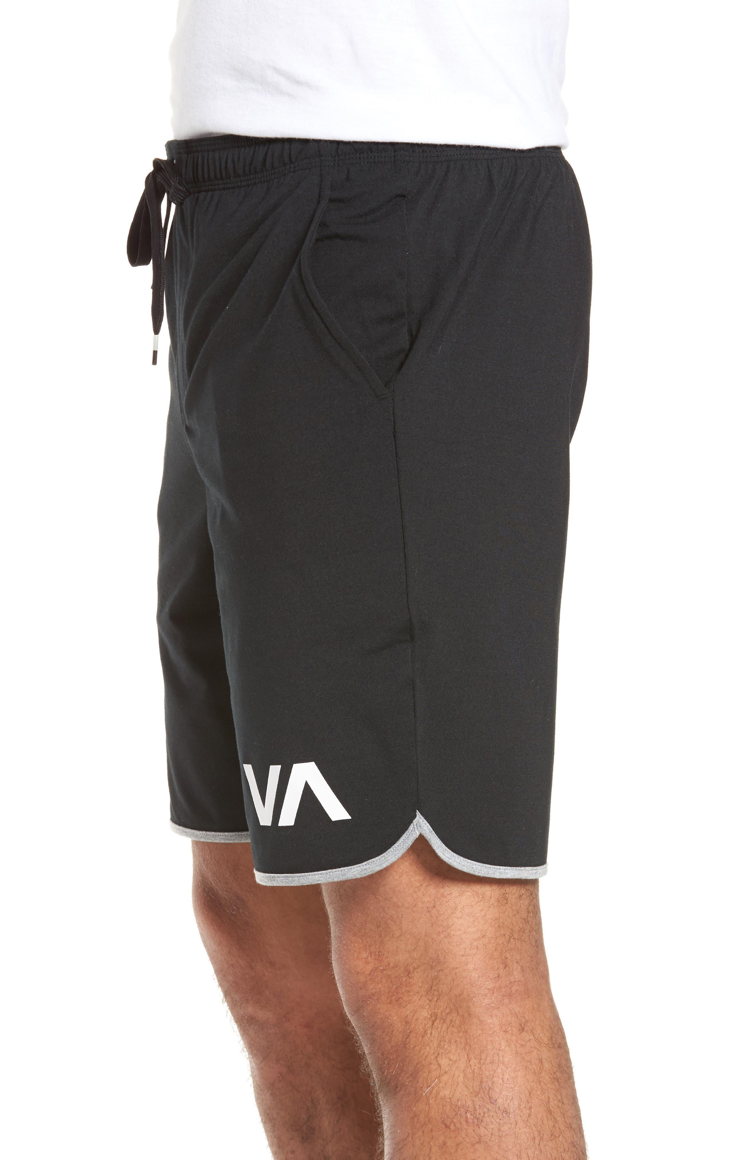 VA Sport II Shorts,                             Alternate thumbnail 4, color,                             BLACK