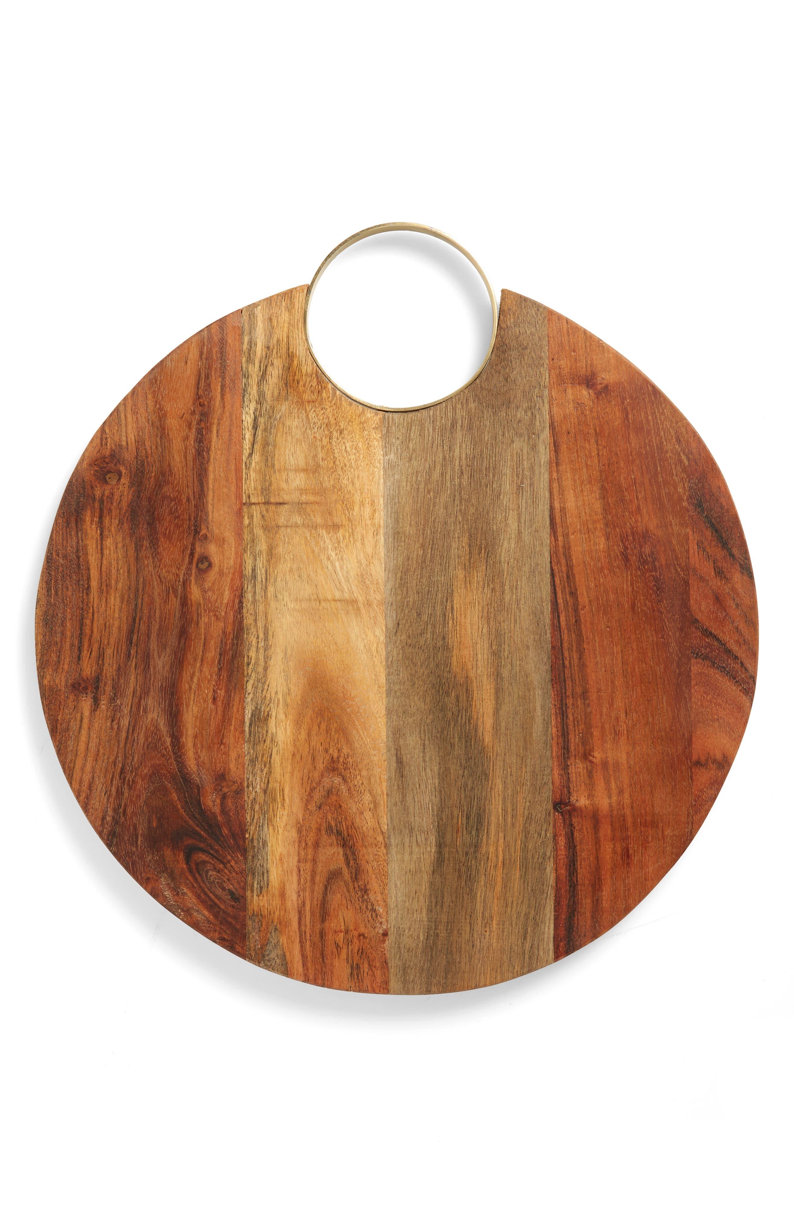 Acacia Wood Cheese Board,                         Main,                         color, 200