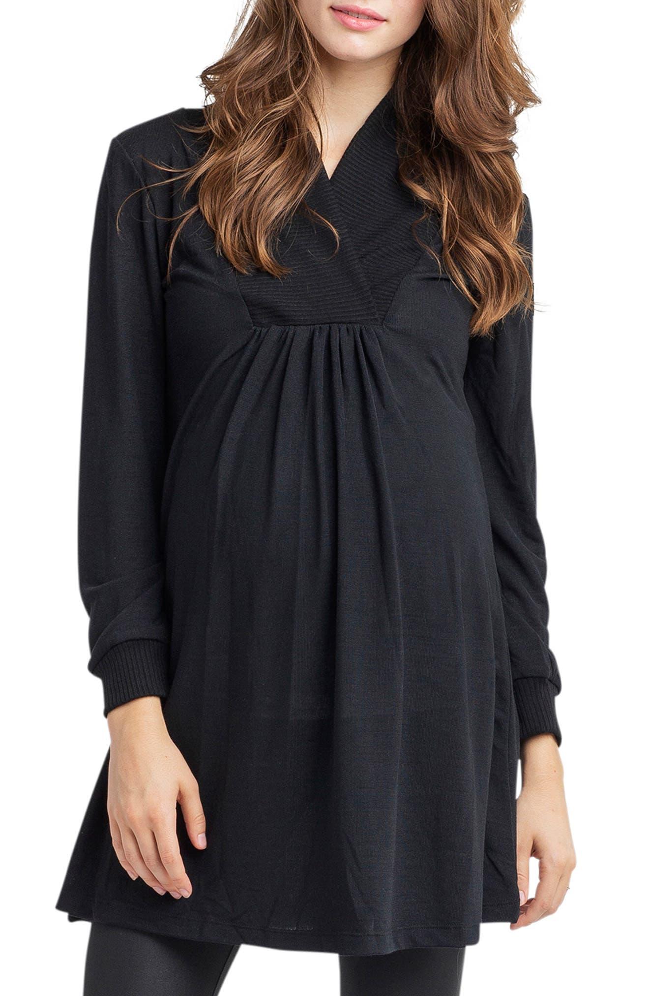 Tanya Maternity Tunic,                         Main,                         color, 002
