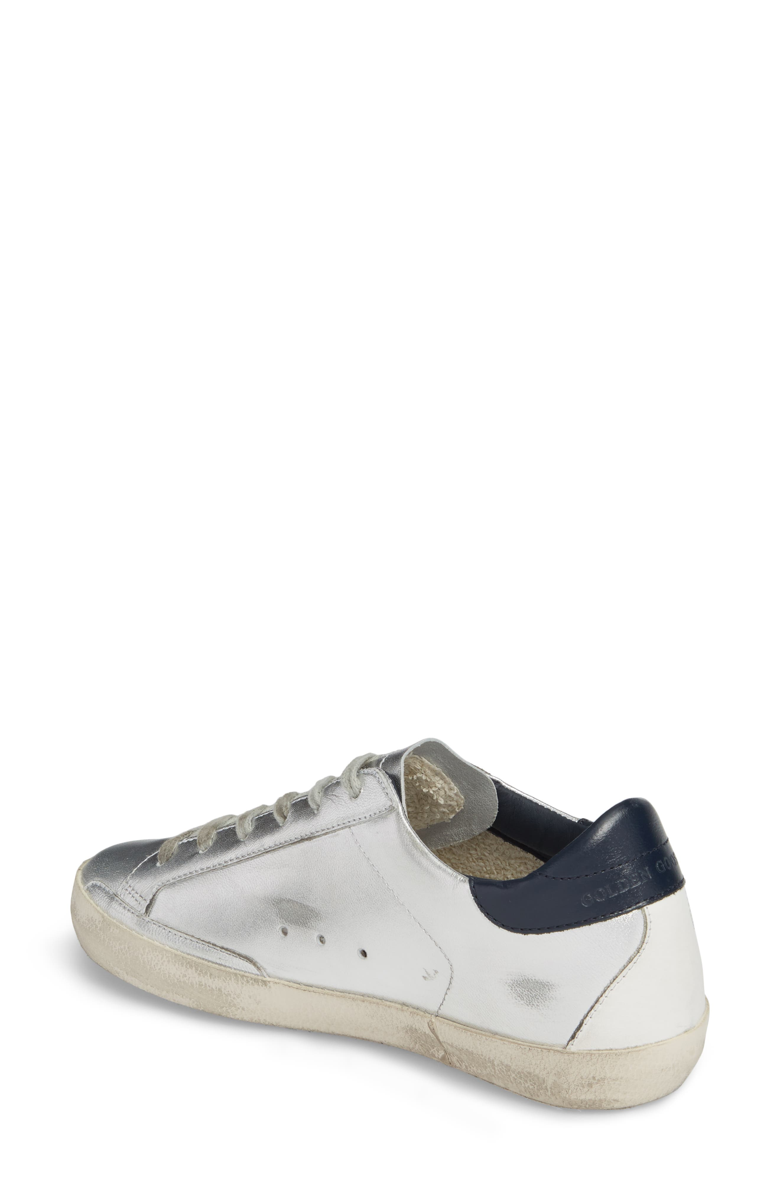 Superstar Metallic Low Top Sneaker,                             Alternate thumbnail 2, color,                             040
