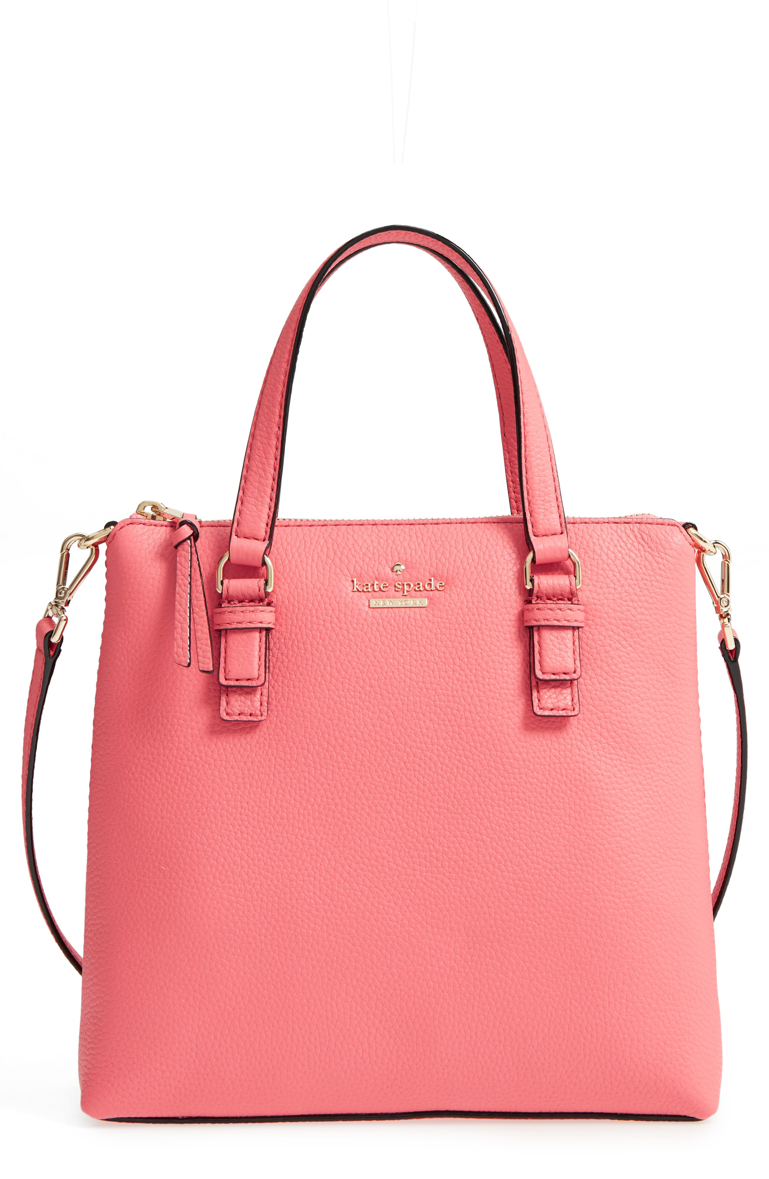 jackson street - hayley leather satchel,                         Main,                         color, 897