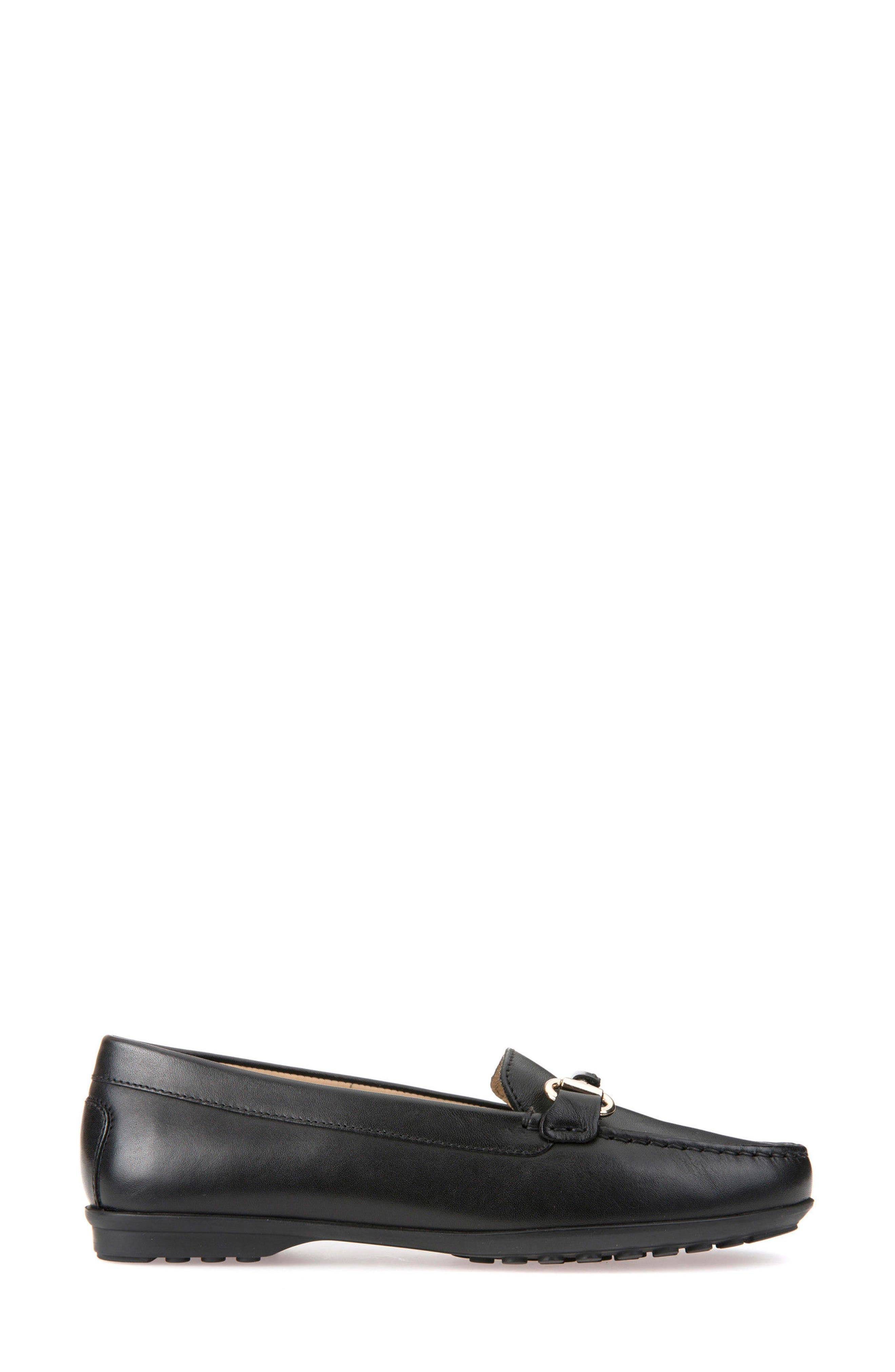 Elidia Buckle Loafer,                             Alternate thumbnail 3, color,                             001