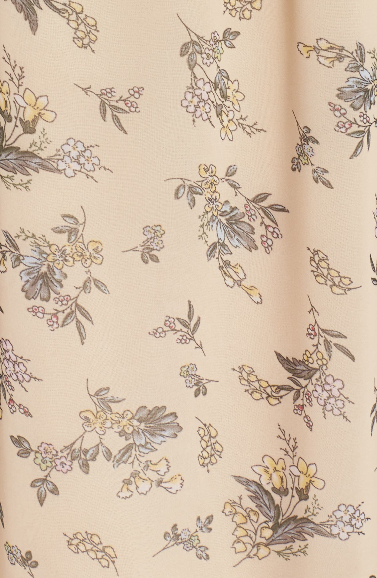 Print Off-the-Shoulder Maxi Dress,                             Alternate thumbnail 5, color,