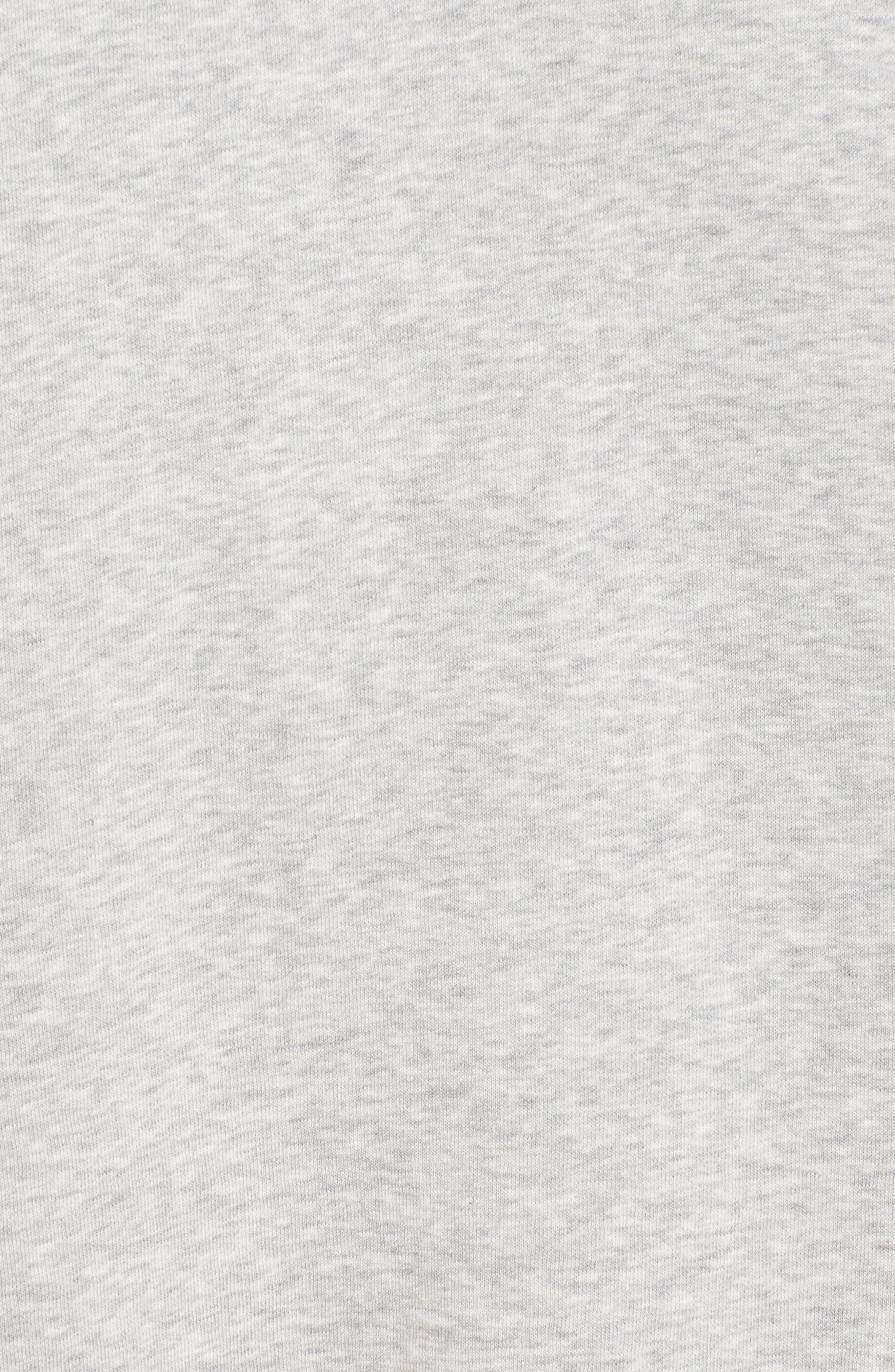 x Gigi Hadid Sweatshirt Dress,                             Alternate thumbnail 5, color,                             020