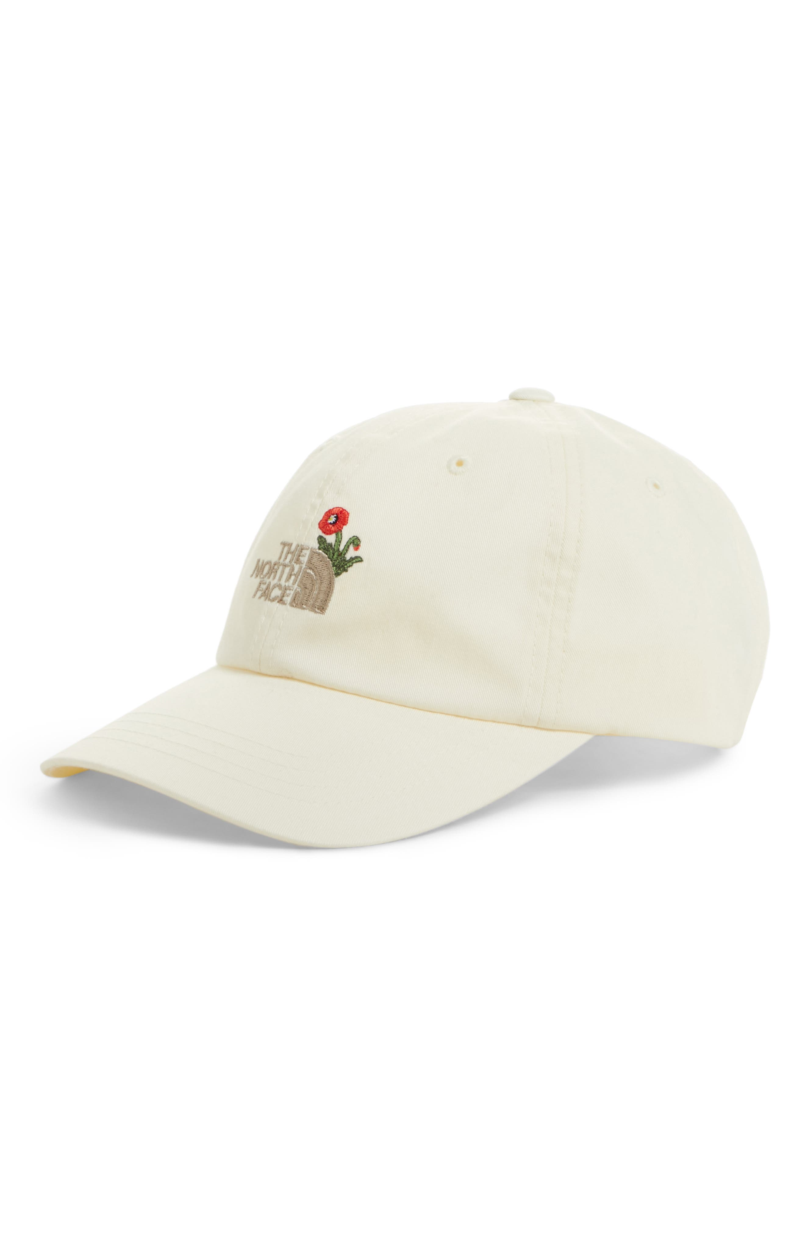 Norm Poppy Embroidered Adjustable Cap,                             Main thumbnail 2, color,