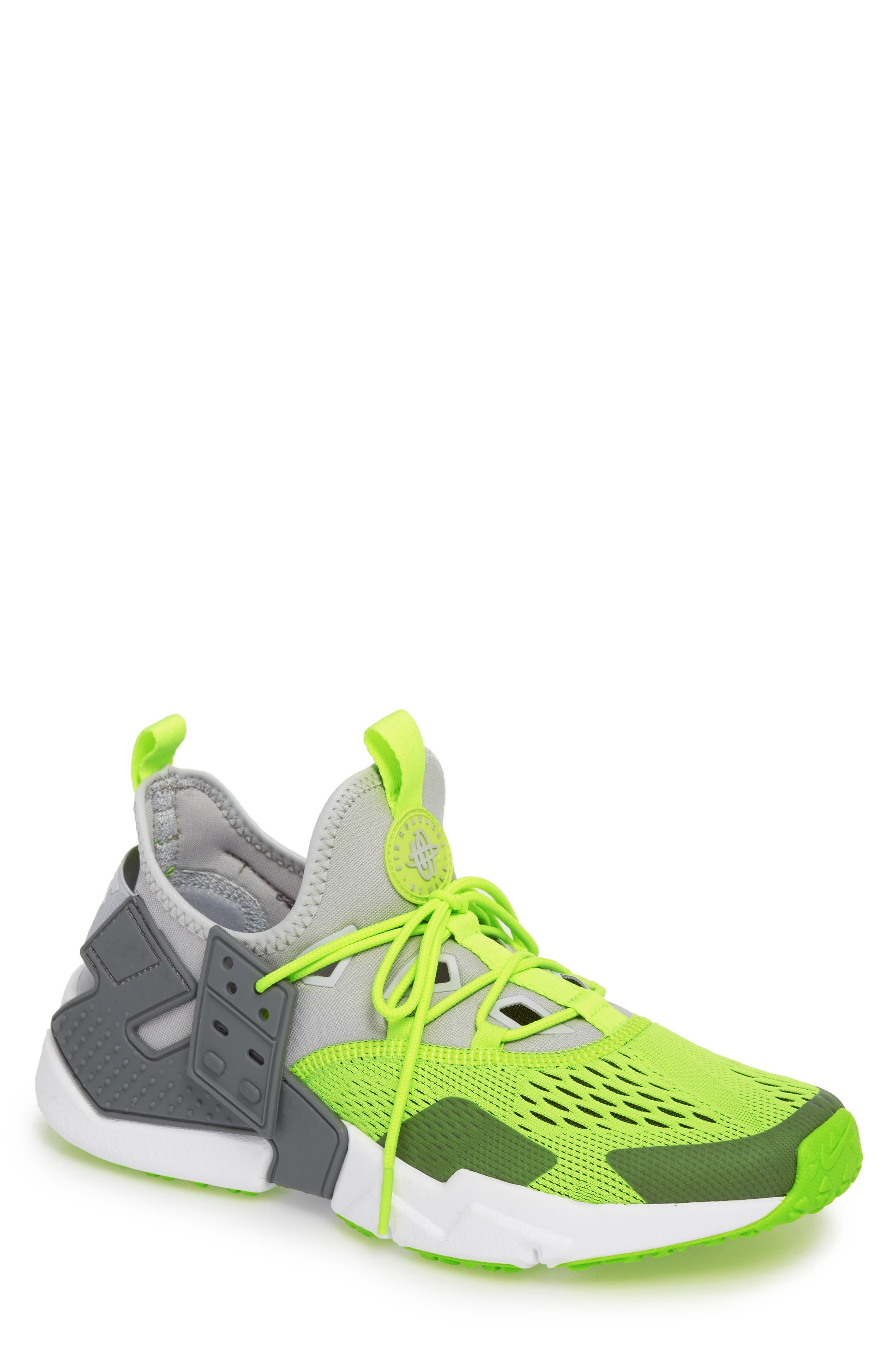 Nike Air Huarache Drift Br Sneaker- Grey