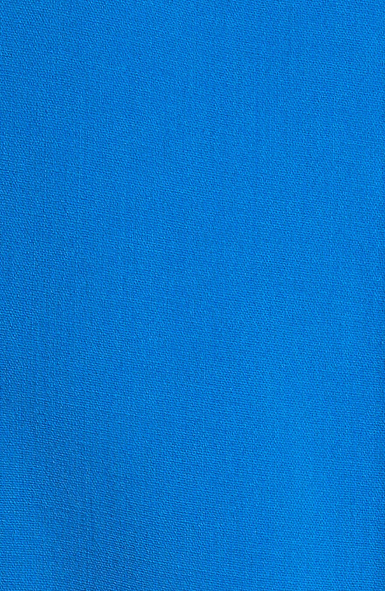 Stretch Wool Scoopneck Sheath Dress,                             Alternate thumbnail 5, color,                             405