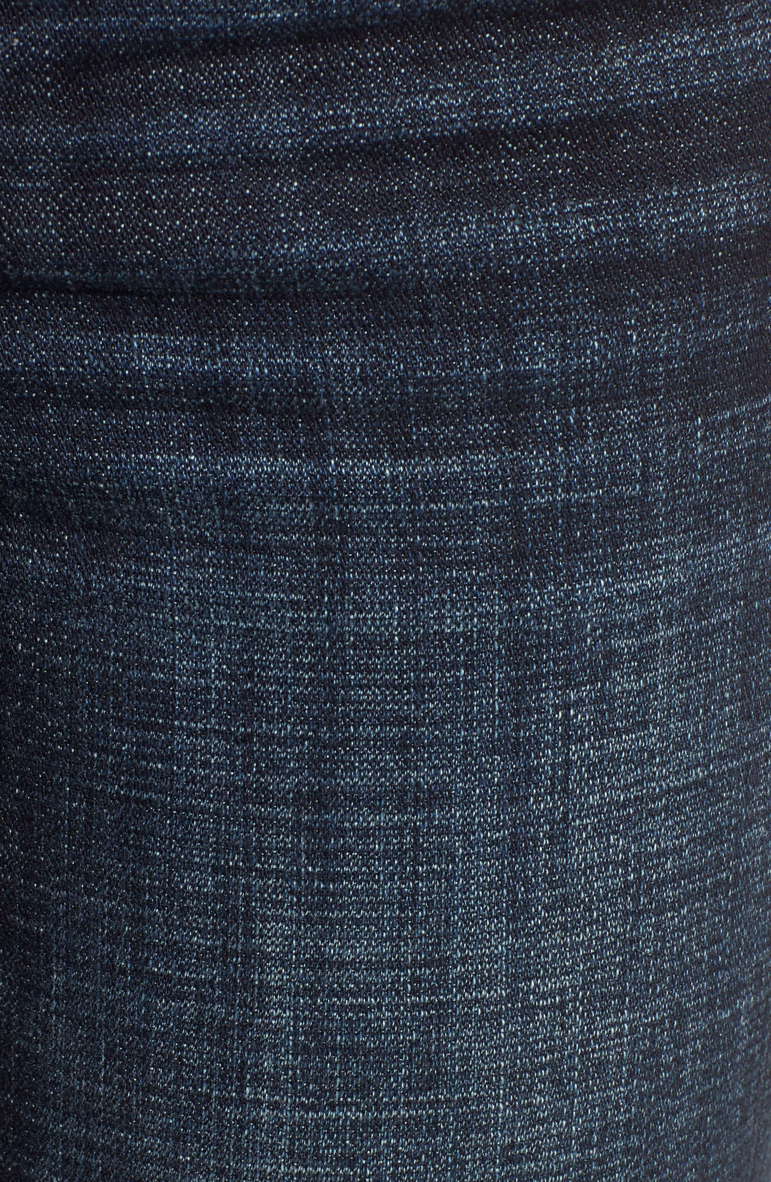 KUT from the Kloth Lauren Crop Straight Leg Jeans,                             Alternate thumbnail 6, color,                             440