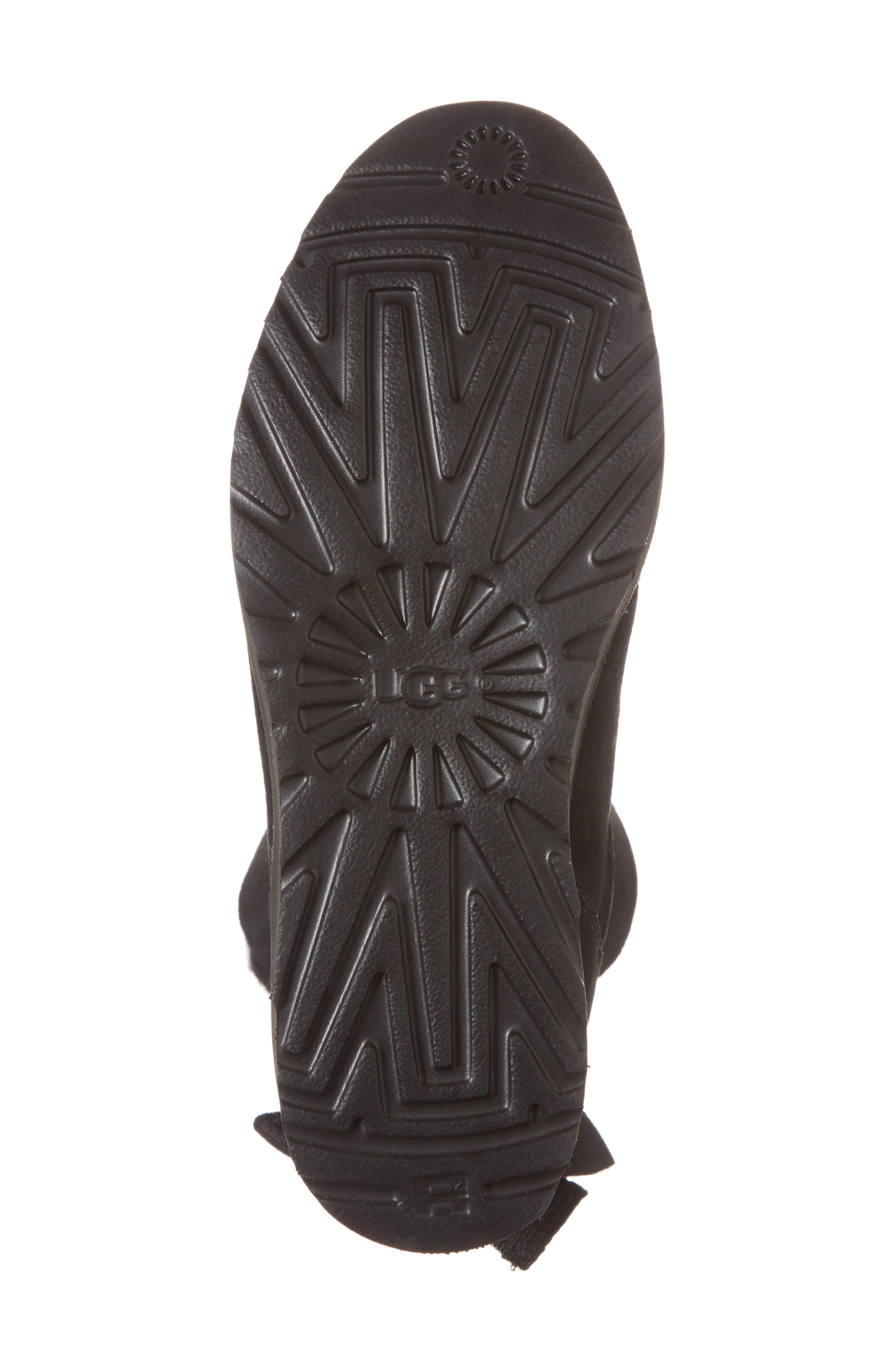 Alisia Grommet Bow Boot,                             Alternate thumbnail 6, color,                             001